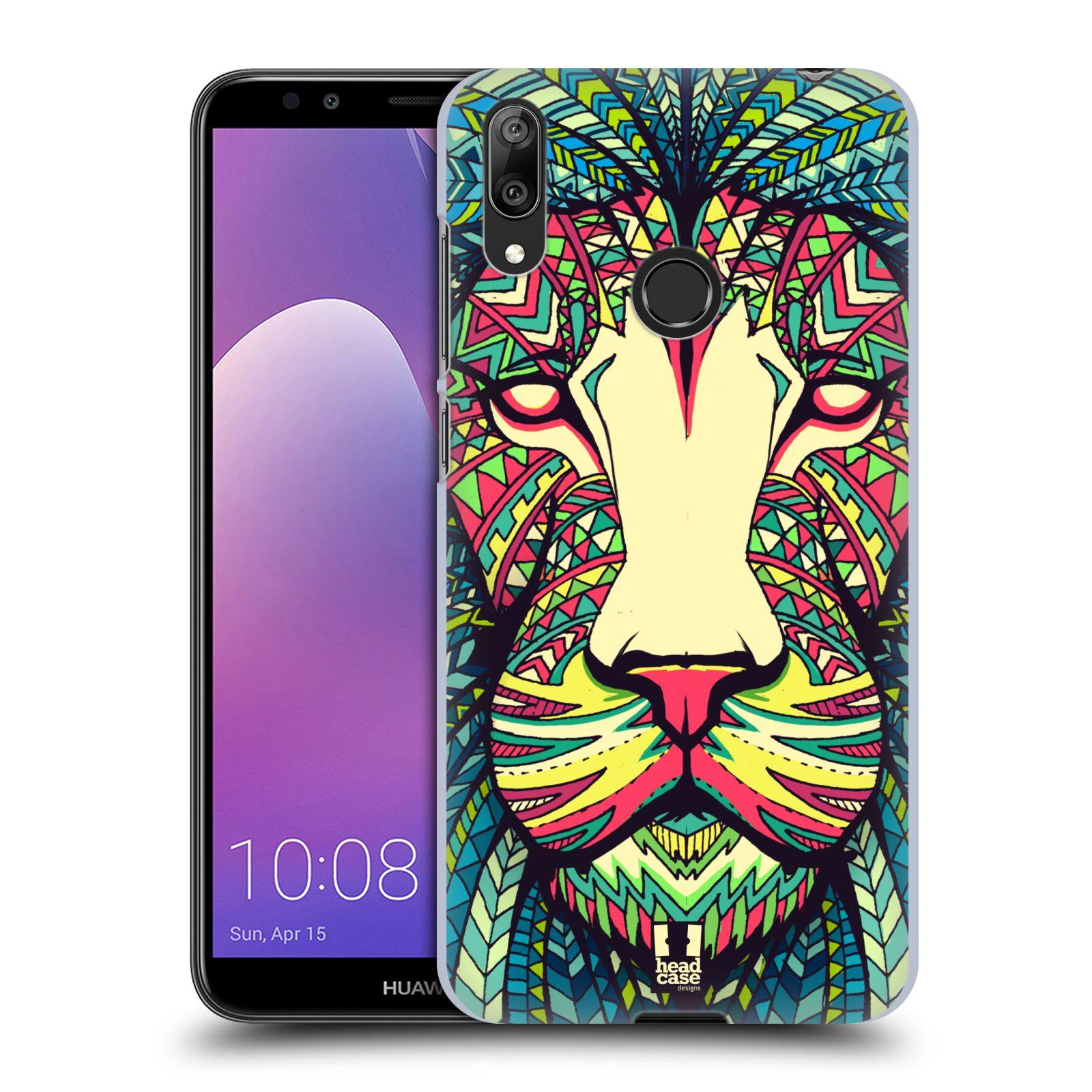 Plastové pouzdro na mobil Huawei Y7 (2019) - Head Case - AZTEC LEV