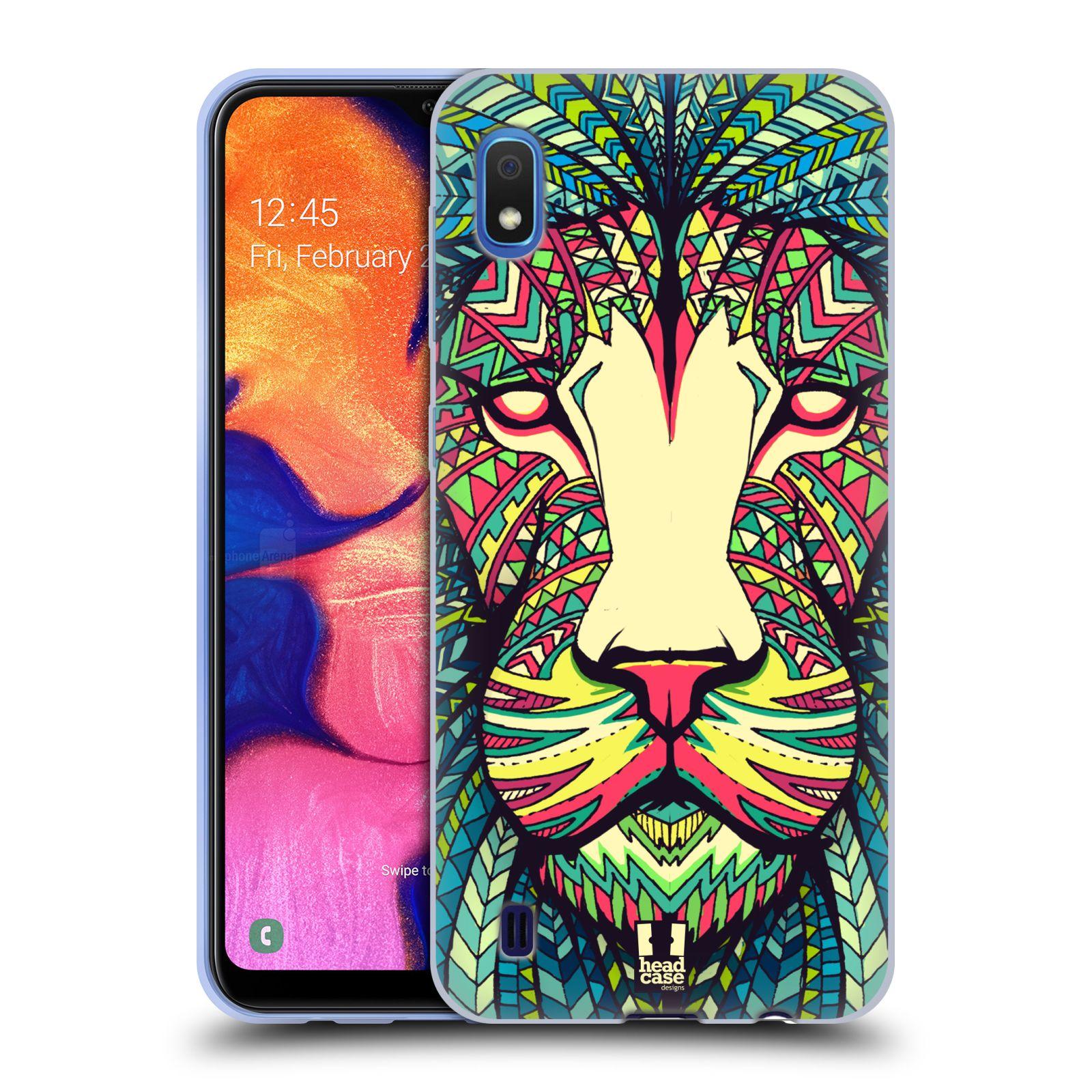 Silikonové pouzdro na mobil Samsung Galaxy A10 - Head Case - AZTEC LEV