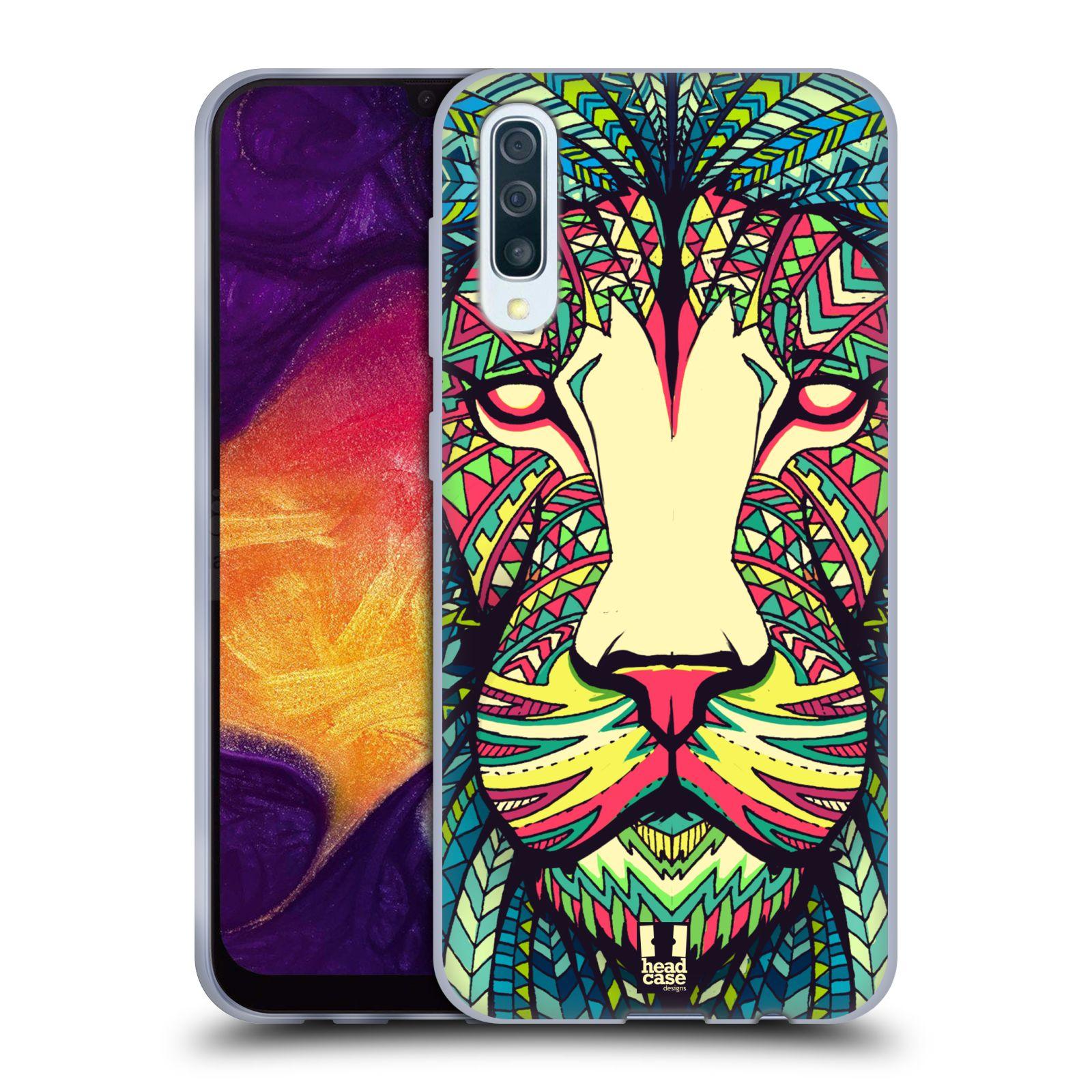Silikonové pouzdro na mobil Samsung Galaxy A50 / A30s - Head Case - AZTEC LEV