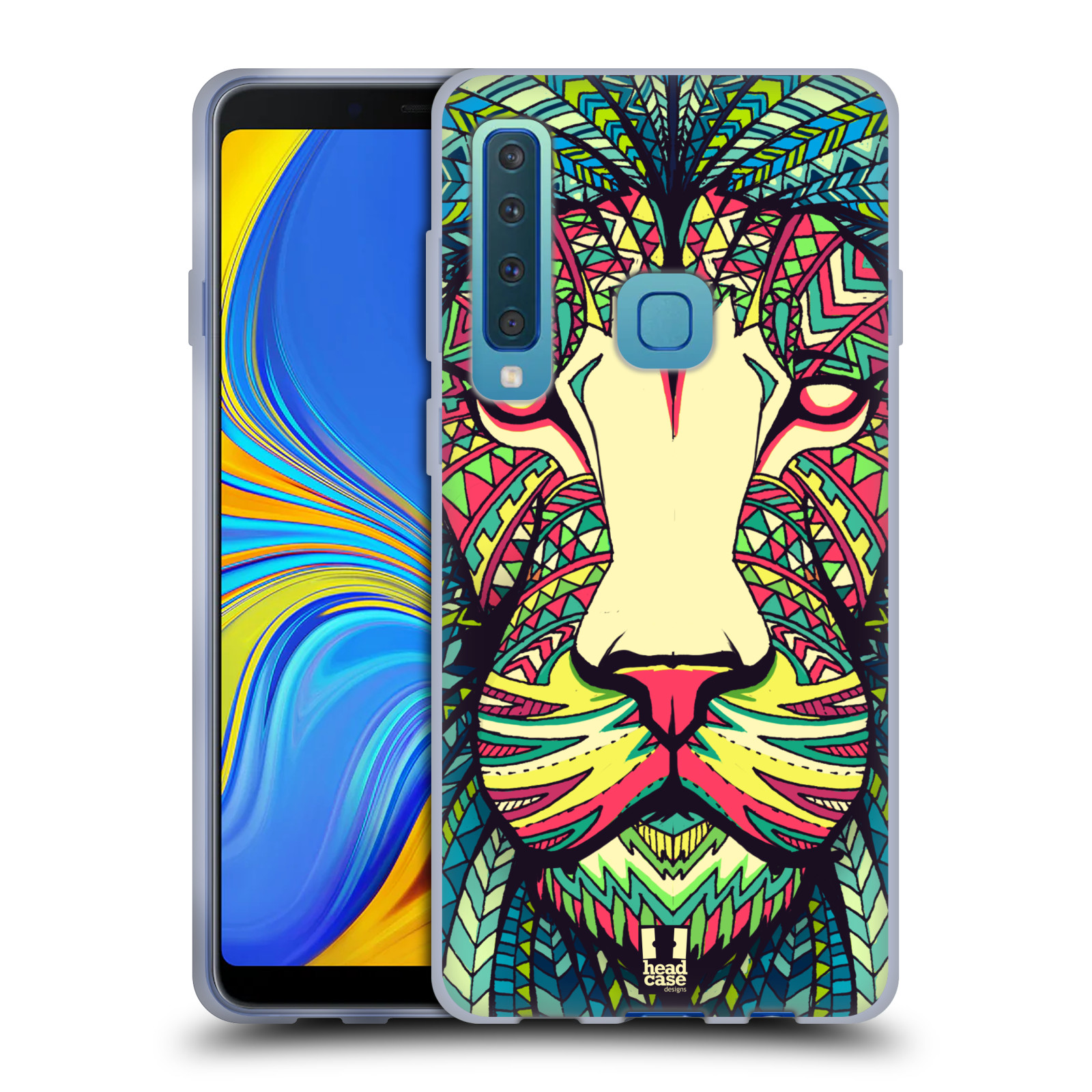 Silikonové pouzdro na mobil Samsung Galaxy A9 (2018) - Head Case - AZTEC LEV