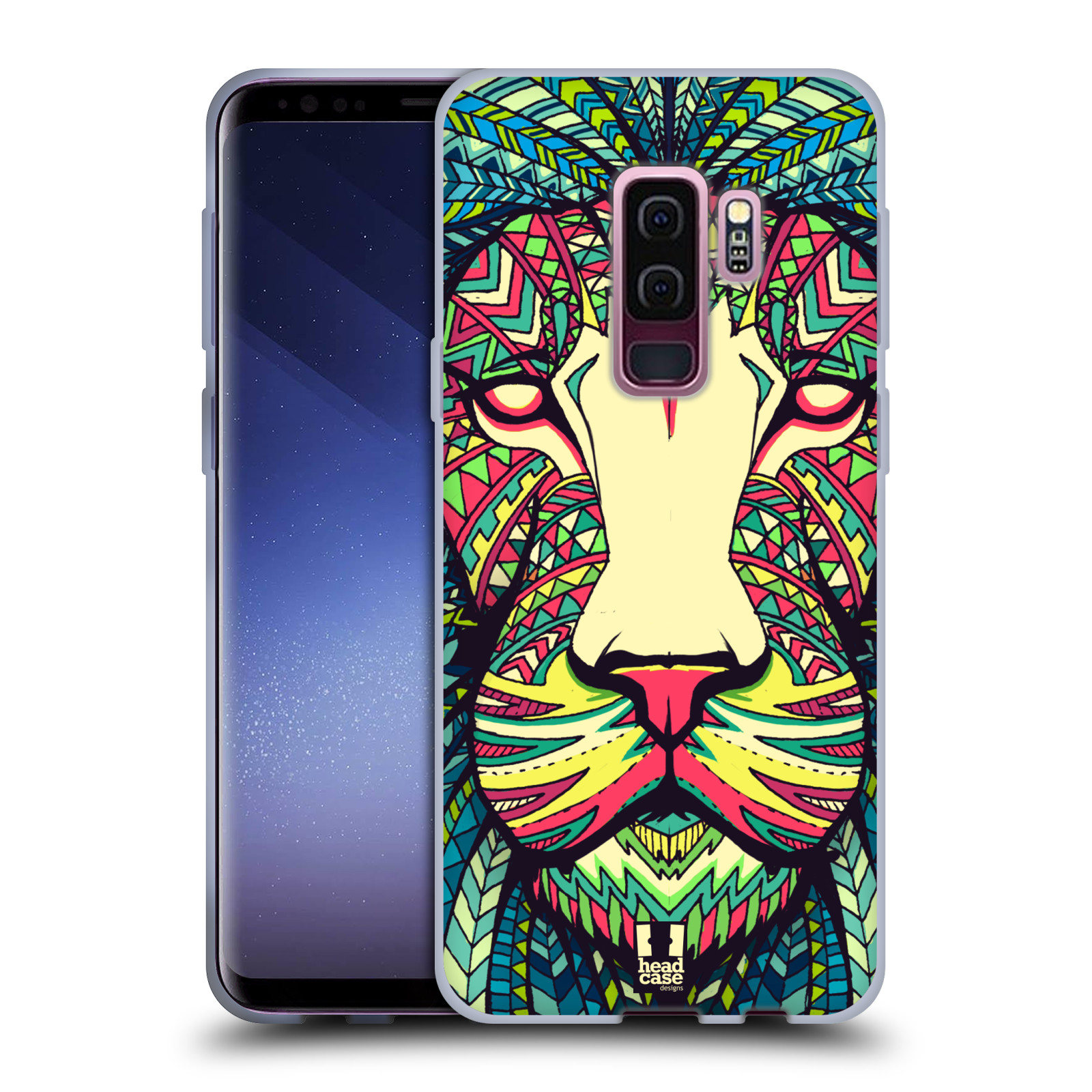 Silikonové pouzdro na mobil Samsung Galaxy S9 Plus - Head Case - AZTEC LEV