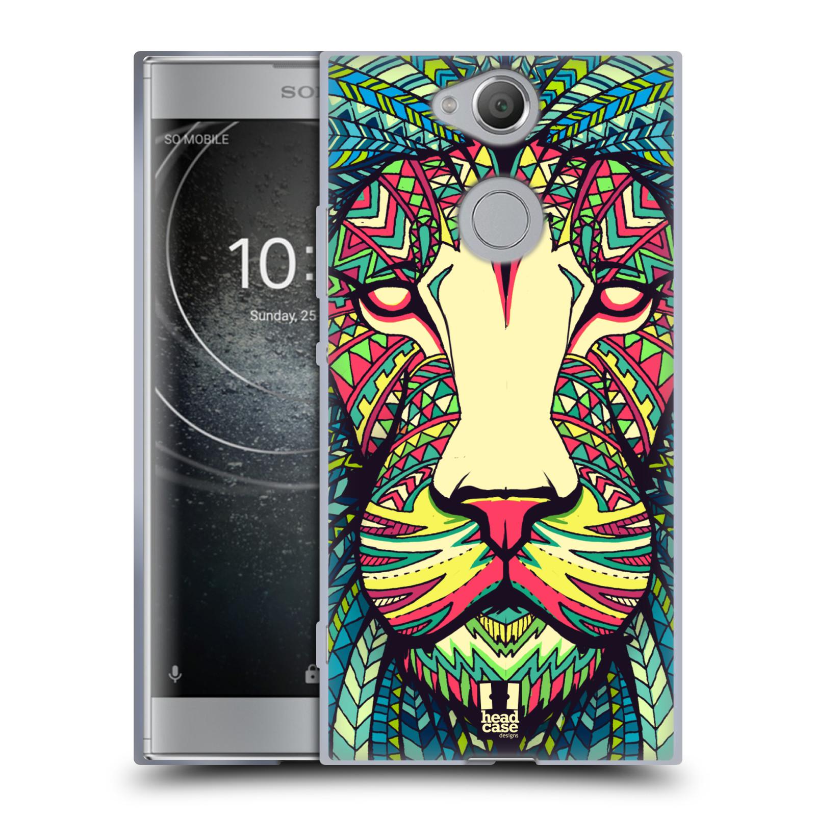 Silikonové pouzdro na mobil Sony Xperia XA2 - Head Case - AZTEC LEV
