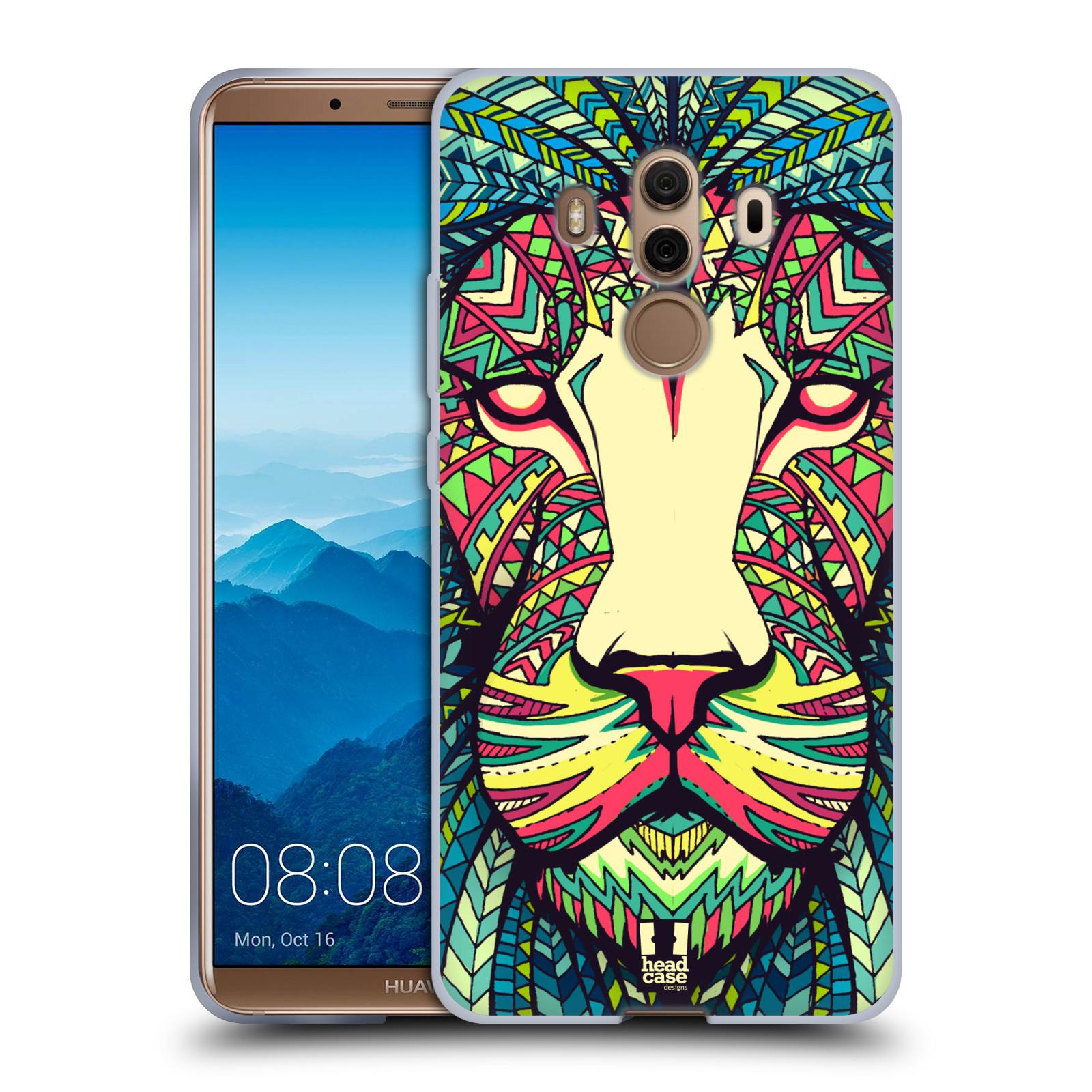 Silikonové pouzdro na mobil Huawei Mate 10 Pro - Head Case - AZTEC LEV