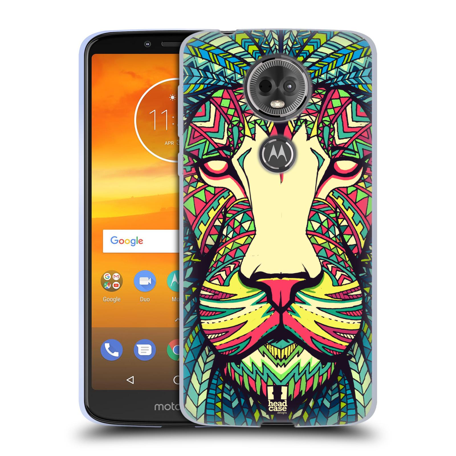 Silikonové pouzdro na mobil Motorola Moto E5 Plus - Head Case - AZTEC LEV