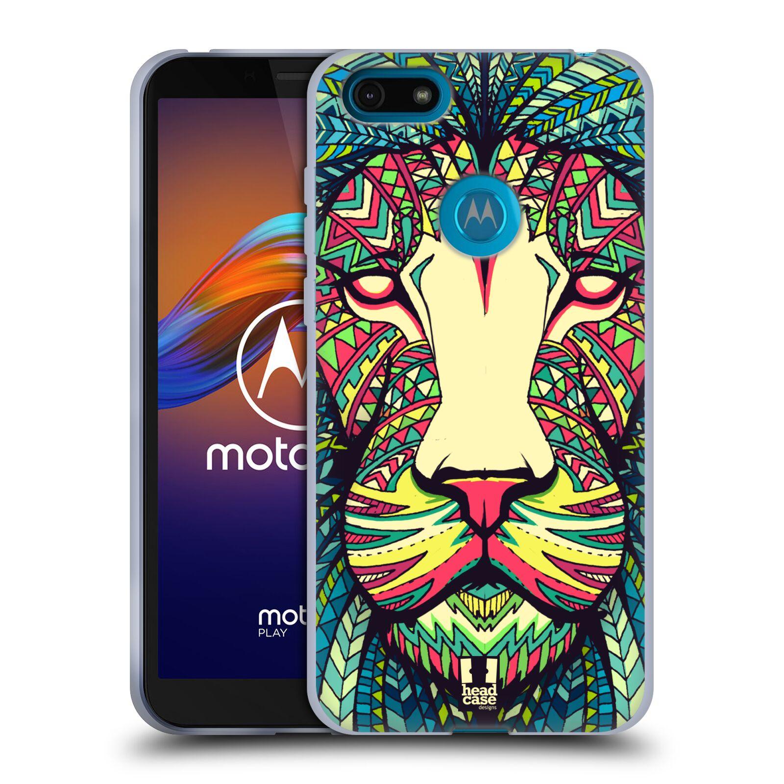 Silikonové pouzdro na mobil Motorola Moto E6 Play - Head Case - AZTEC LEV