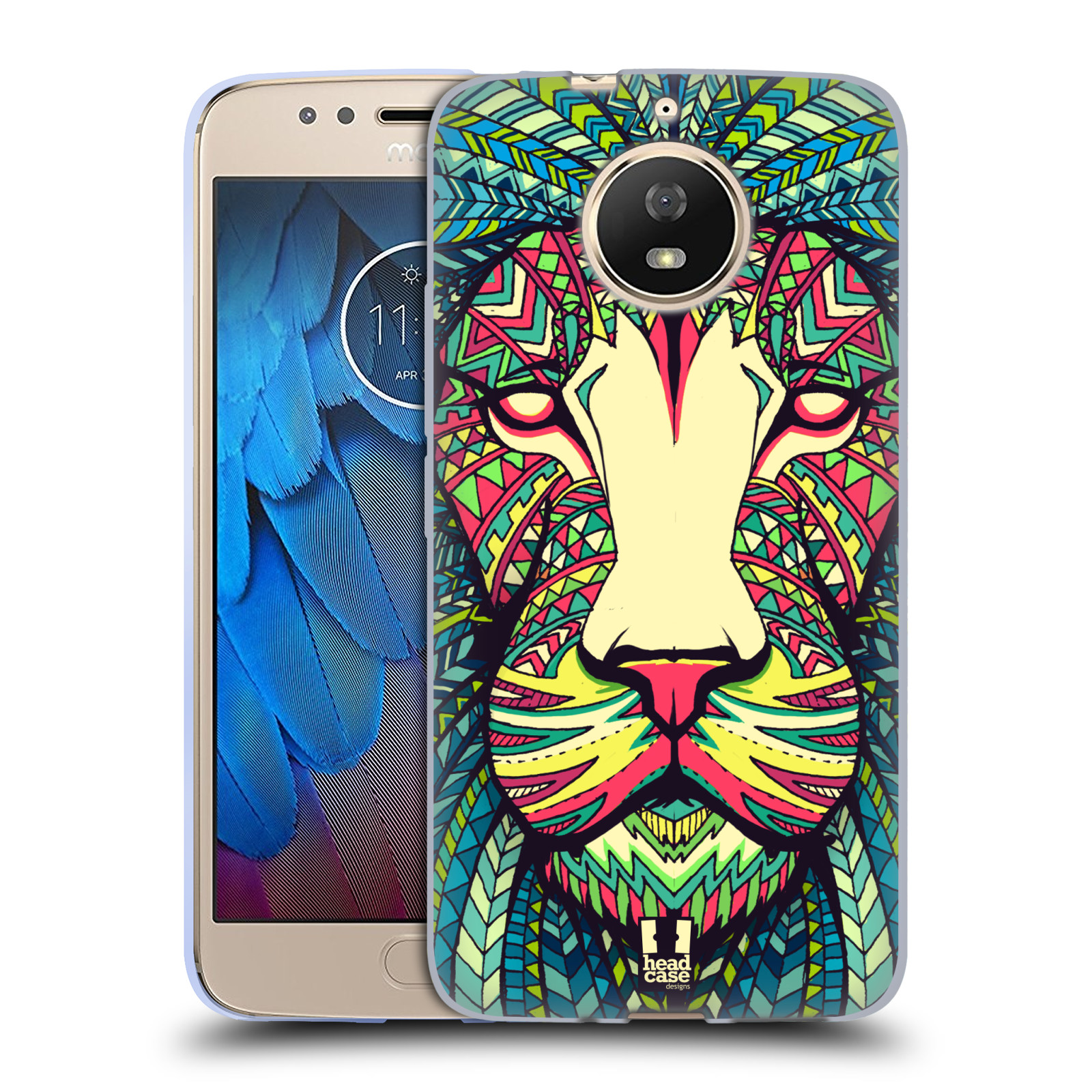 Silikonové pouzdro na mobil Lenovo Moto G5s - Head Case - AZTEC LEV