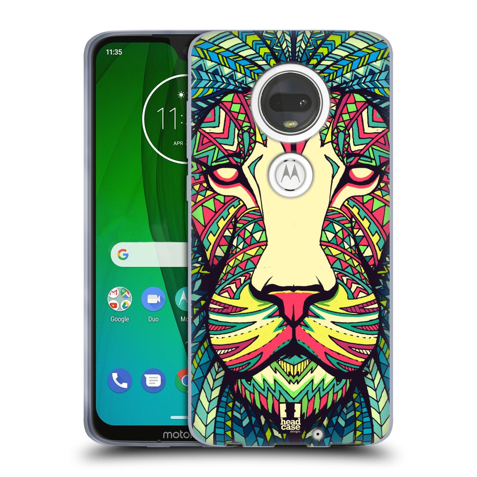 Silikonové pouzdro na mobil Motorola Moto G7 - Head Case - AZTEC LEV