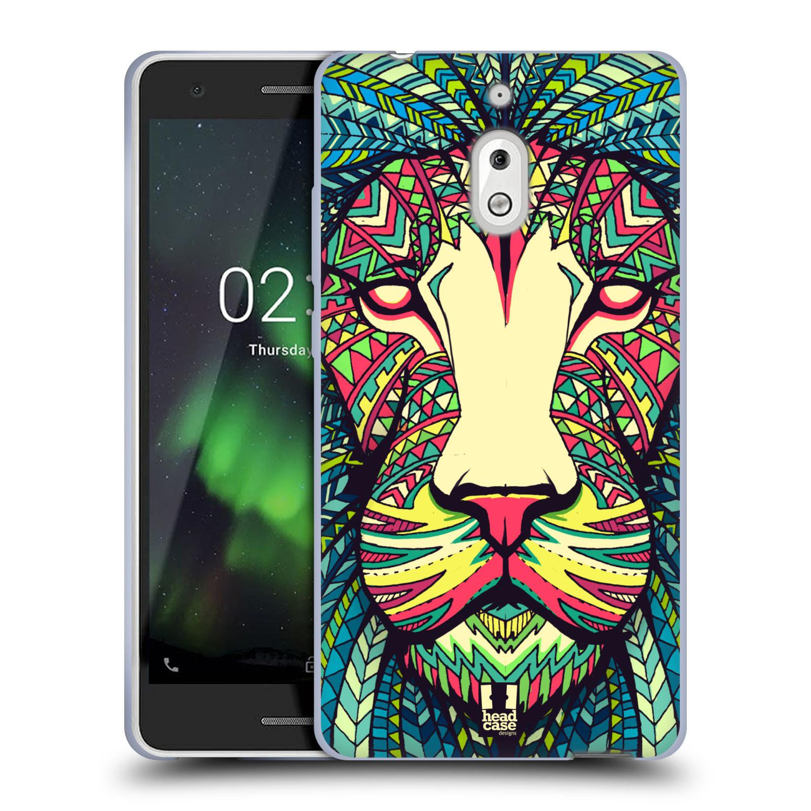 Silikonové pouzdro na mobil Nokia 2.1 - Head Case - AZTEC LEV