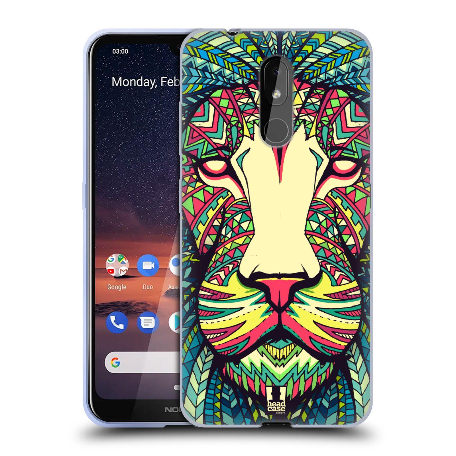 Silikonové pouzdro na mobil Nokia 3.2 - Head Case - AZTEC LEV