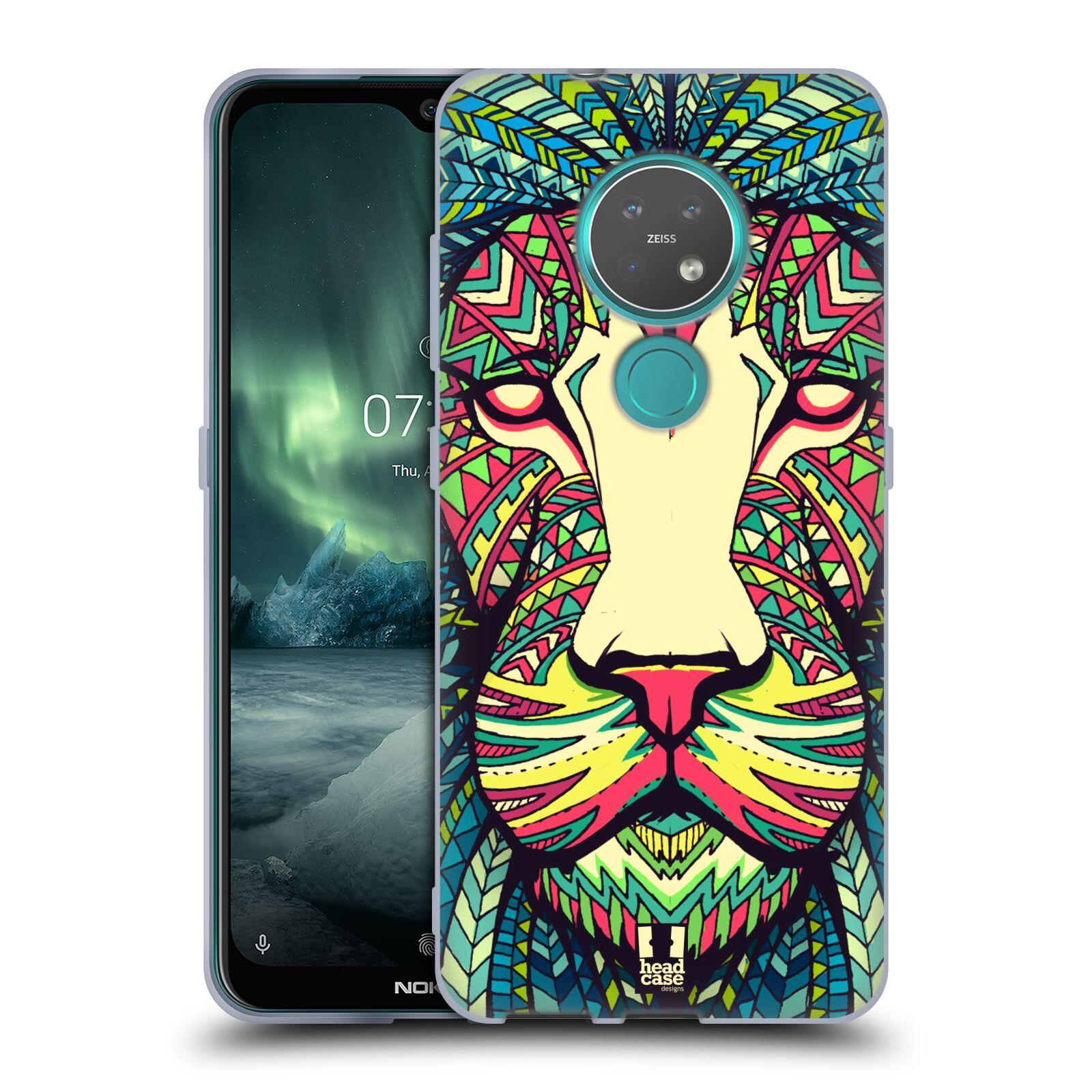 Silikonové pouzdro na mobil Nokia 7.2 - Head Case - AZTEC LEV