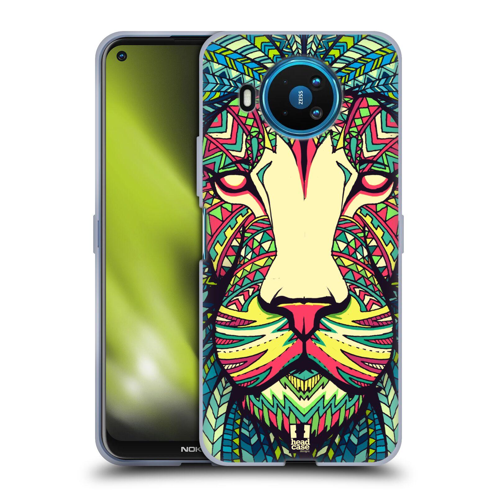 Silikonové pouzdro na mobil Nokia 8.3 5G - Head Case - AZTEC LEV