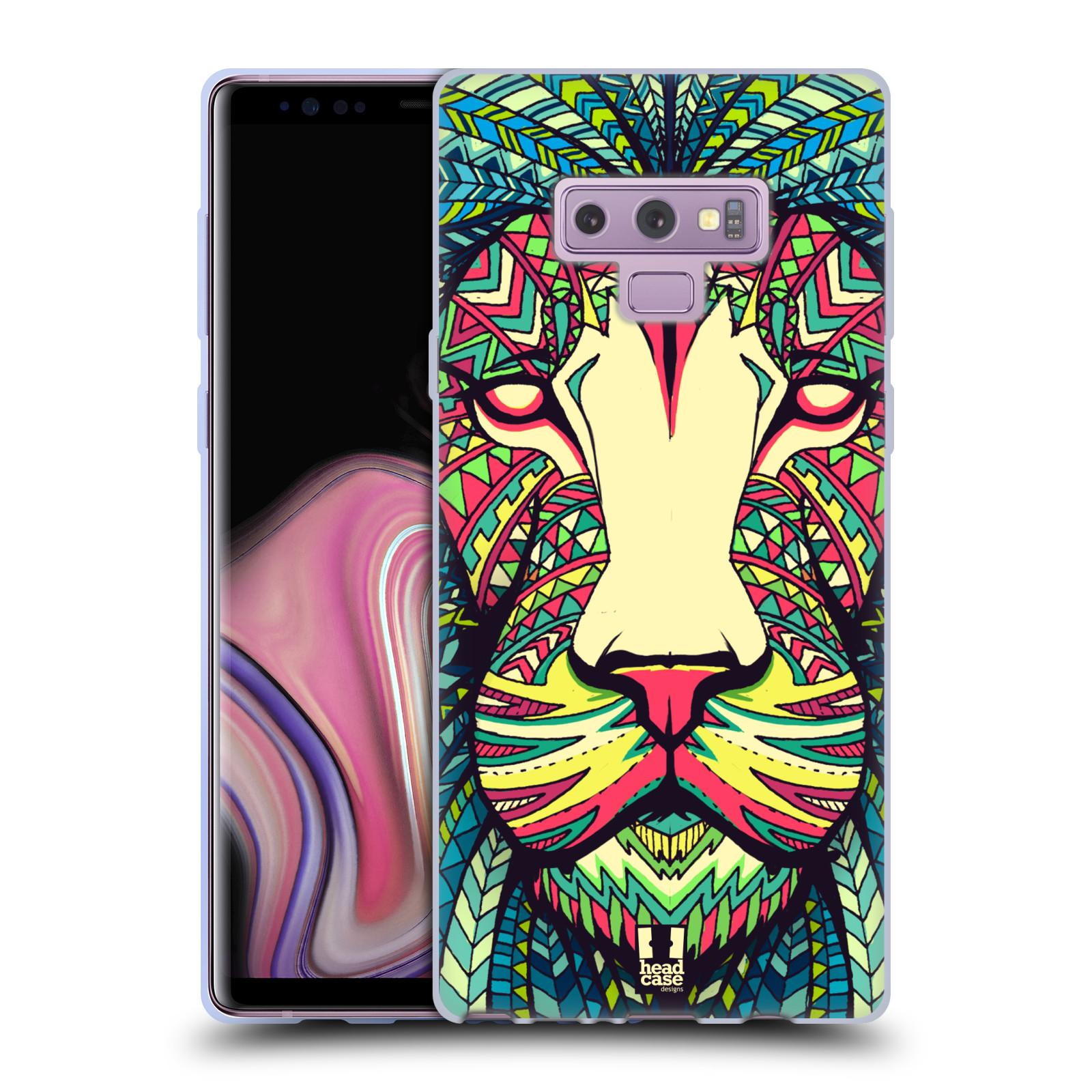 Silikonové pouzdro na mobil Samsung Galaxy Note 9 - Head Case - AZTEC LEV