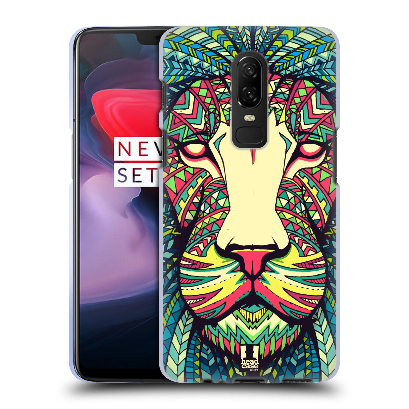 Silikonové pouzdro na mobil OnePlus 6 - Head Case - AZTEC LEV