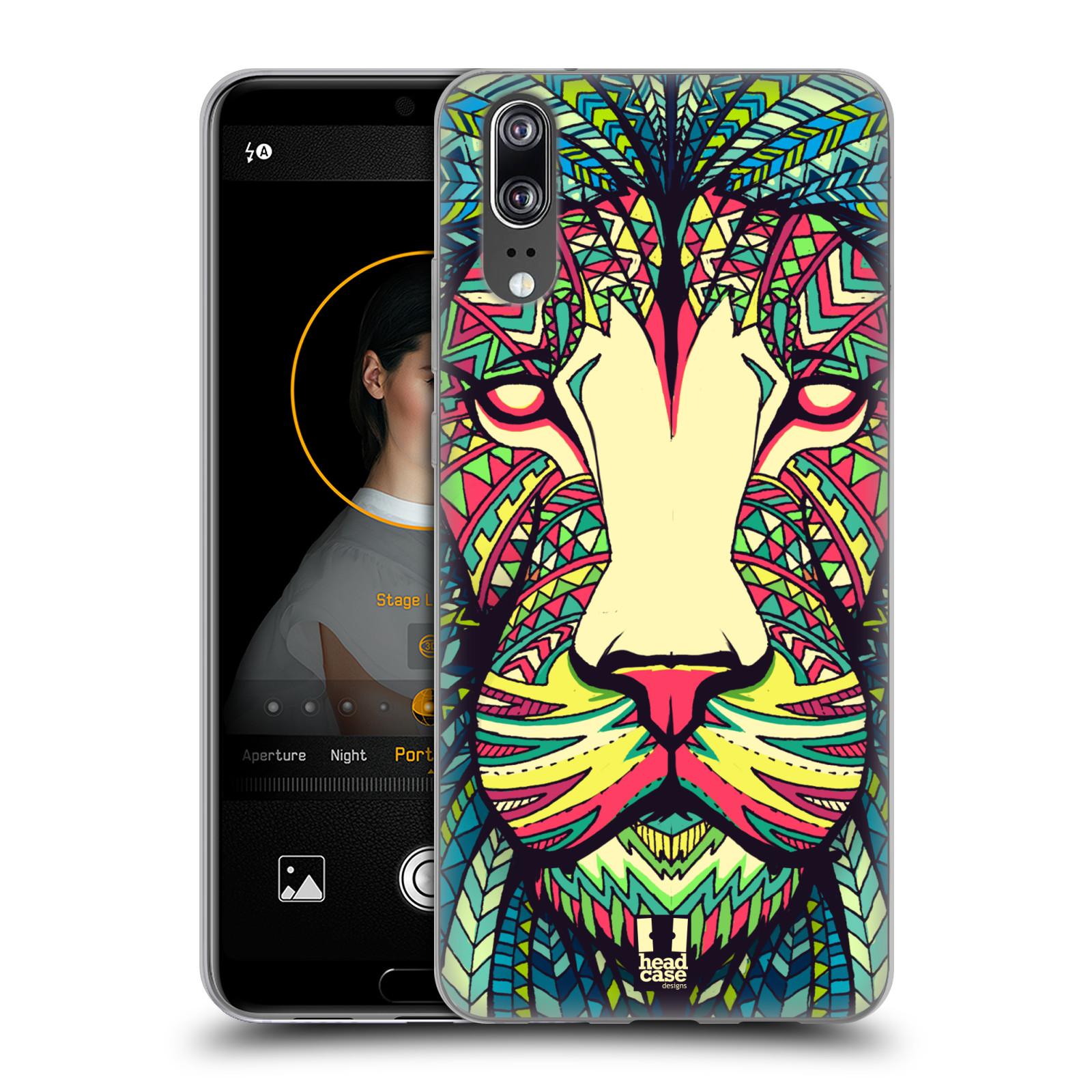 Silikonové pouzdro na mobil Huawei P20 - Head Case - AZTEC LEV