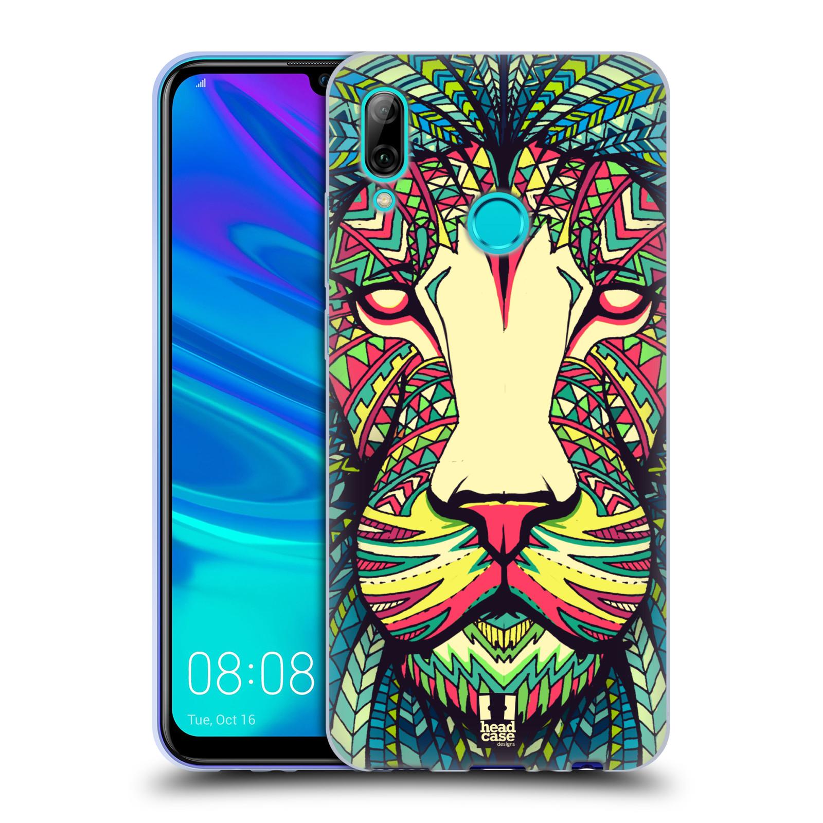 Silikonové pouzdro na mobil Huawei P Smart (2019) - Head Case - AZTEC LEV