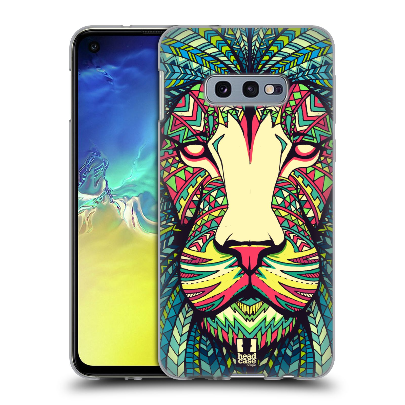 Silikonové pouzdro na mobil Samsung Galaxy S10e - Head Case - AZTEC LEV