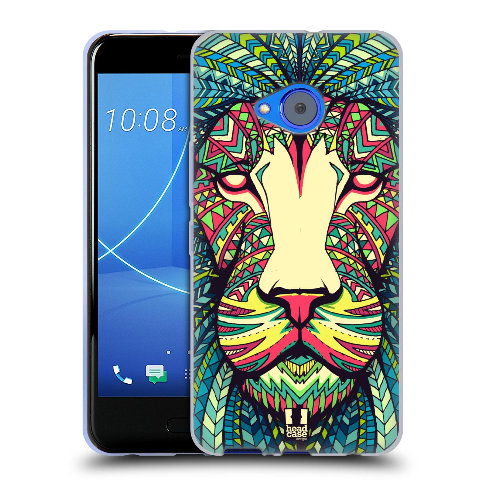 Silikonové pouzdro na mobil HTC U11 Life - Head Case - AZTEC LEV