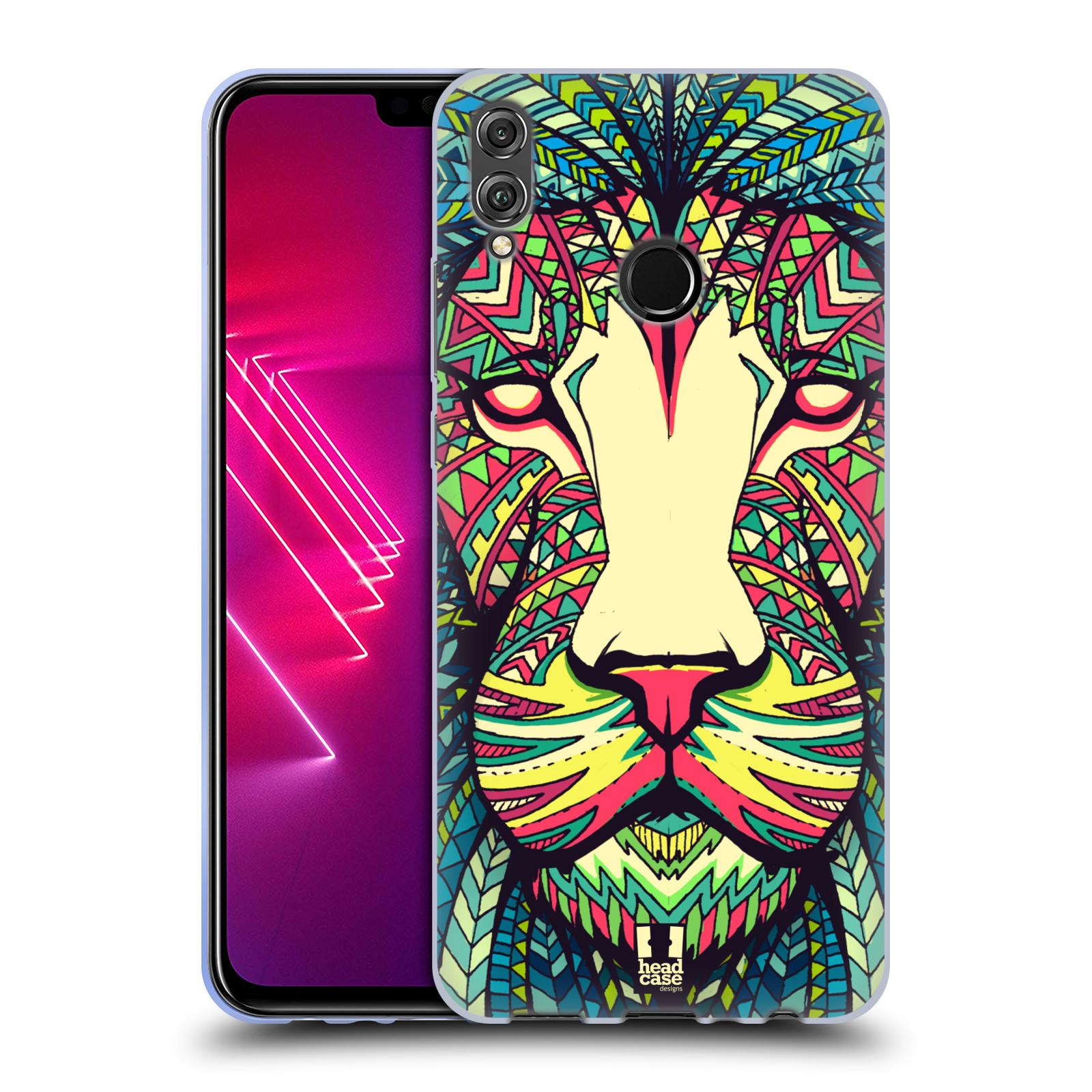 Silikonové pouzdro na mobil Honor View 10 Lite - Head Case - AZTEC LEV