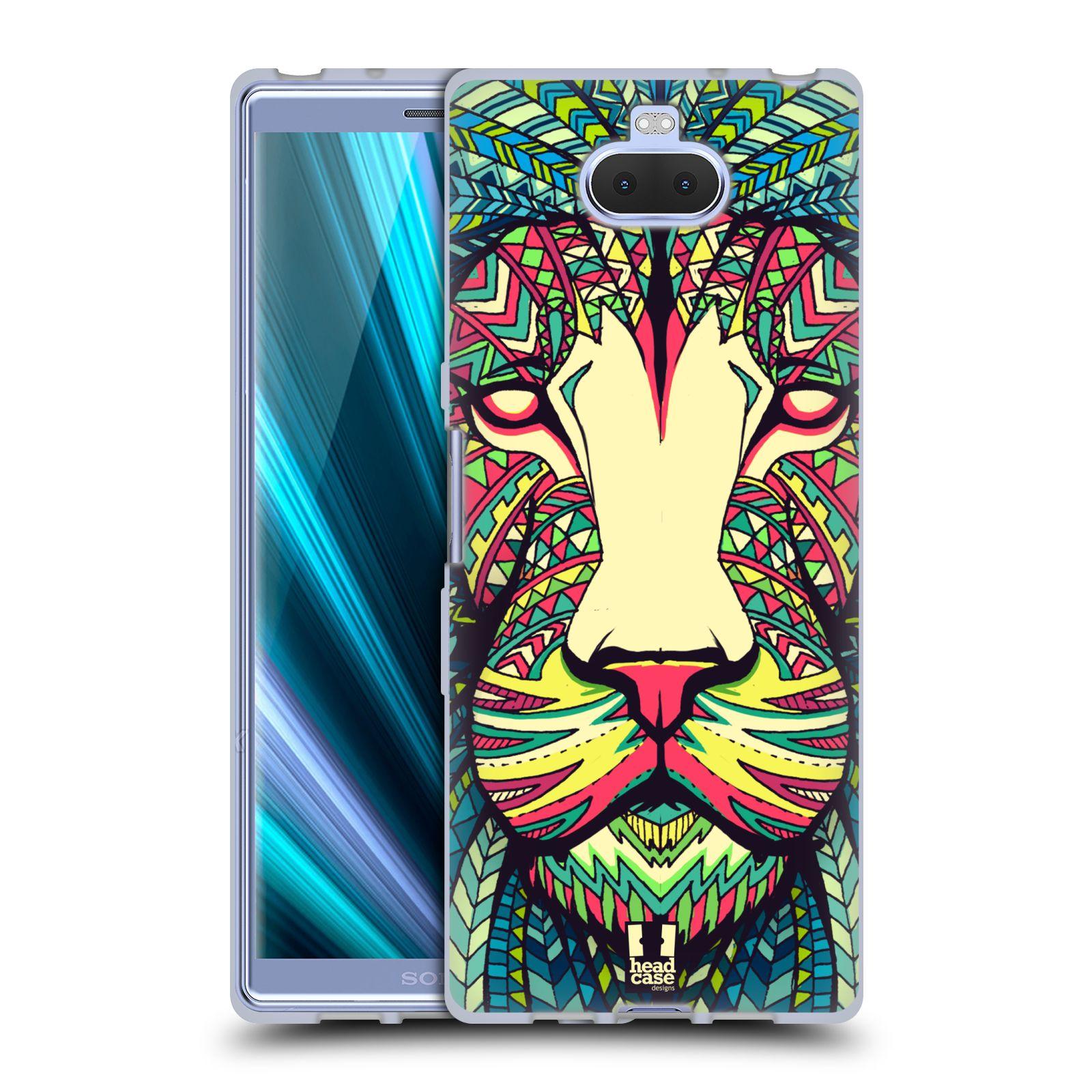 Silikonové pouzdro na mobil Sony Xperia 10 - Head Case - AZTEC LEV