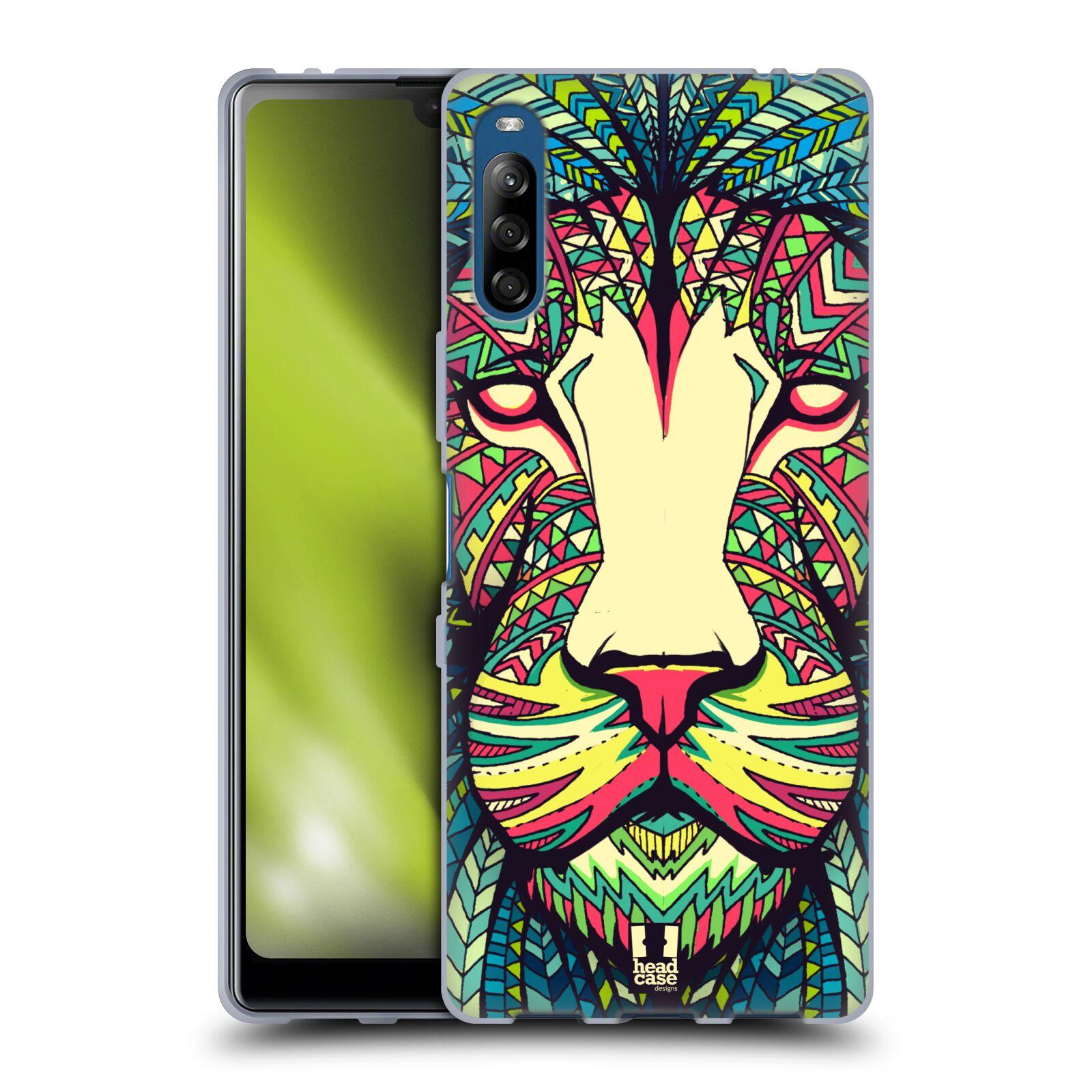 Silikonové pouzdro na mobil Sony Xperia L4 - Head Case - AZTEC LEV