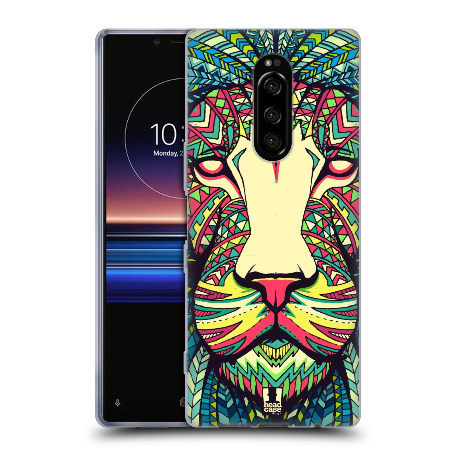 Silikonové pouzdro na mobil Sony Xperia 1 - Head Case - AZTEC LEV