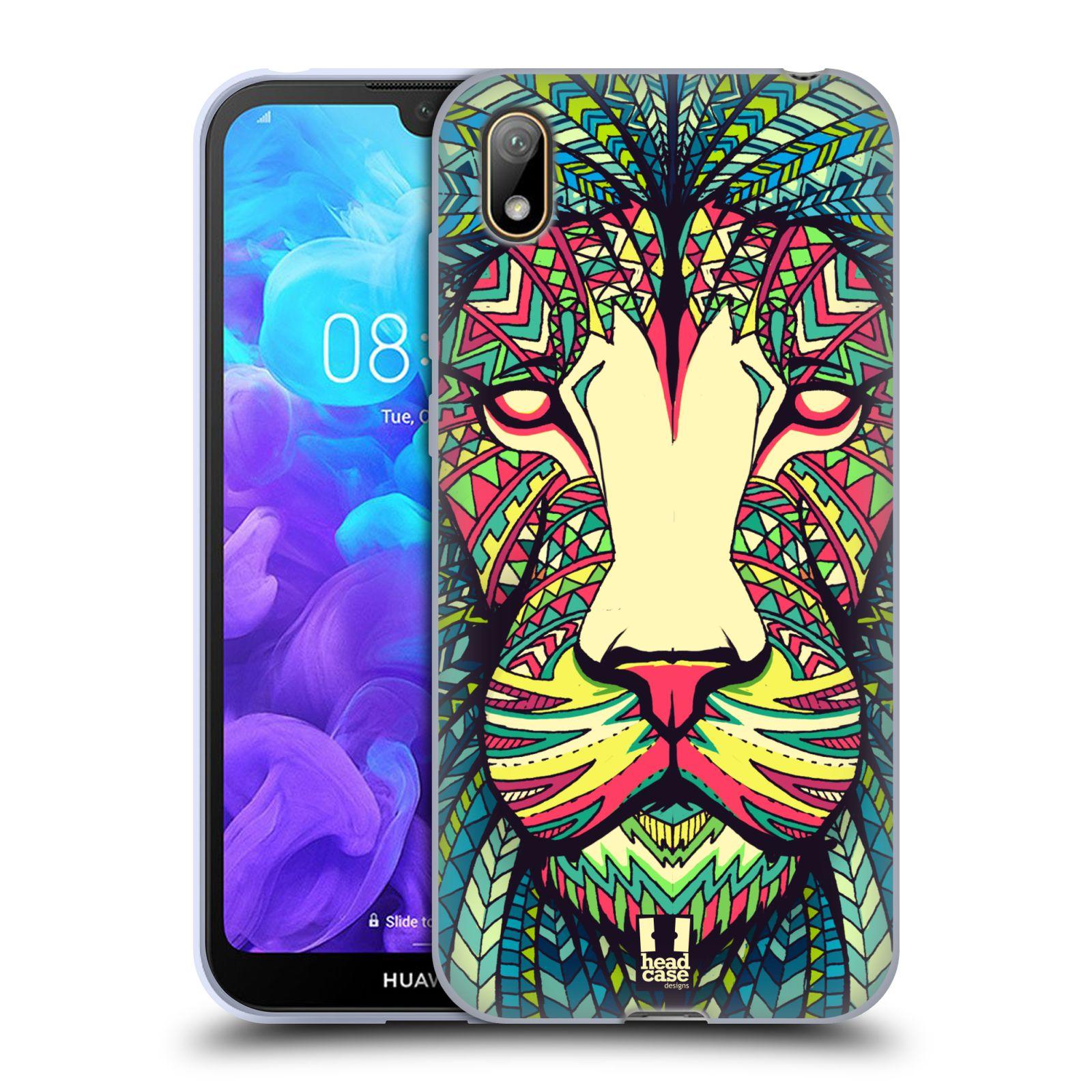 Silikonové pouzdro na mobil Huawei Y5 (2019) - Head Case - AZTEC LEV