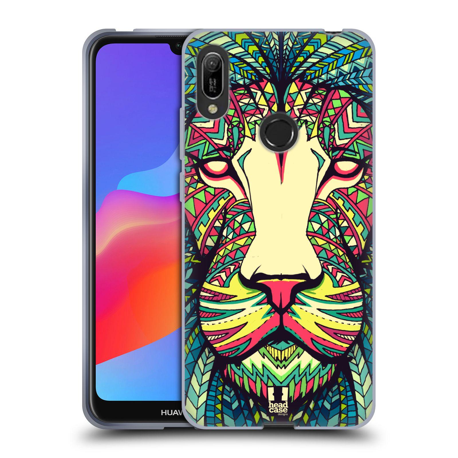 Silikonové pouzdro na mobil Huawei Y6 (2019) - Head Case - AZTEC LEV