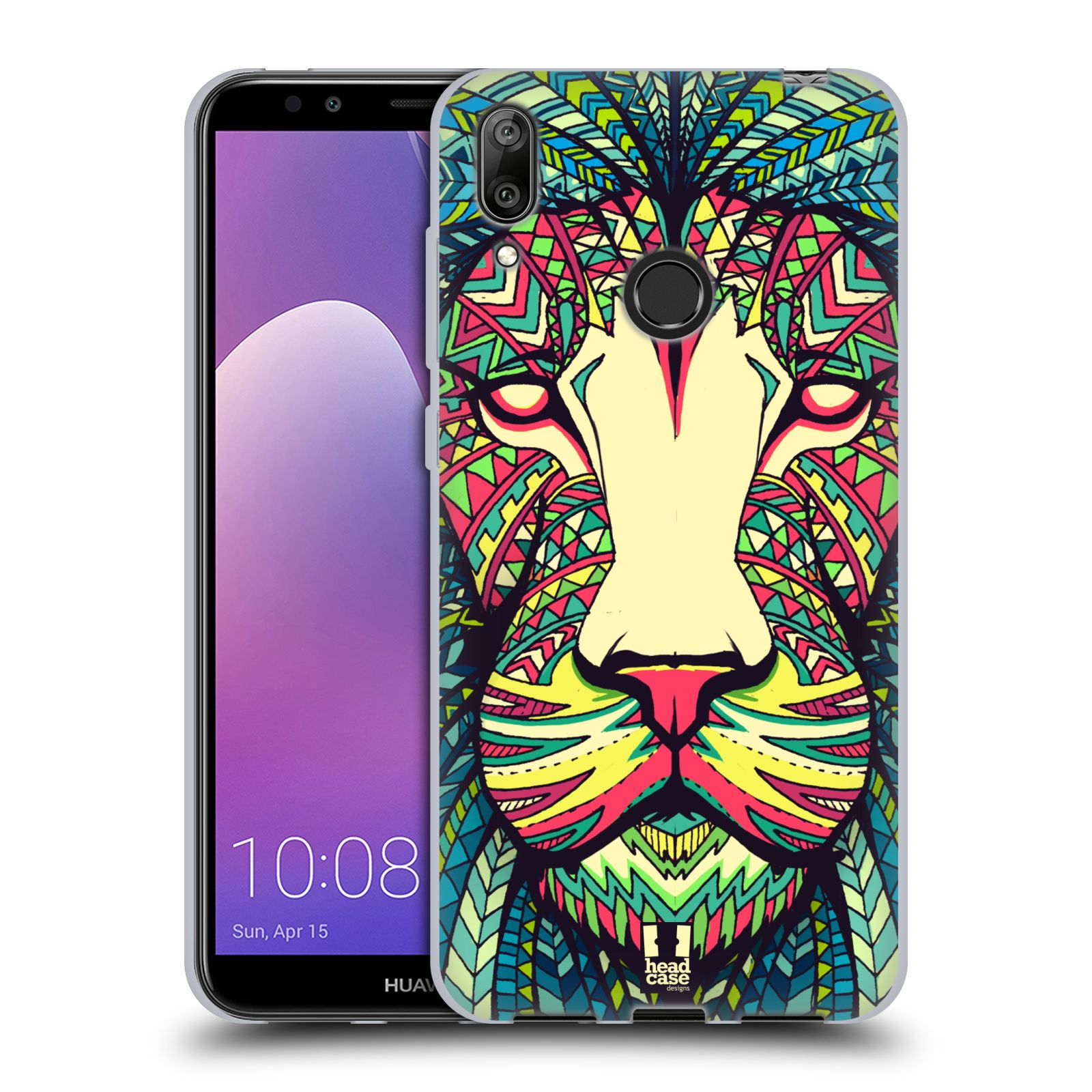 Silikonové pouzdro na mobil Huawei Y7 (2019) - Head Case - AZTEC LEV