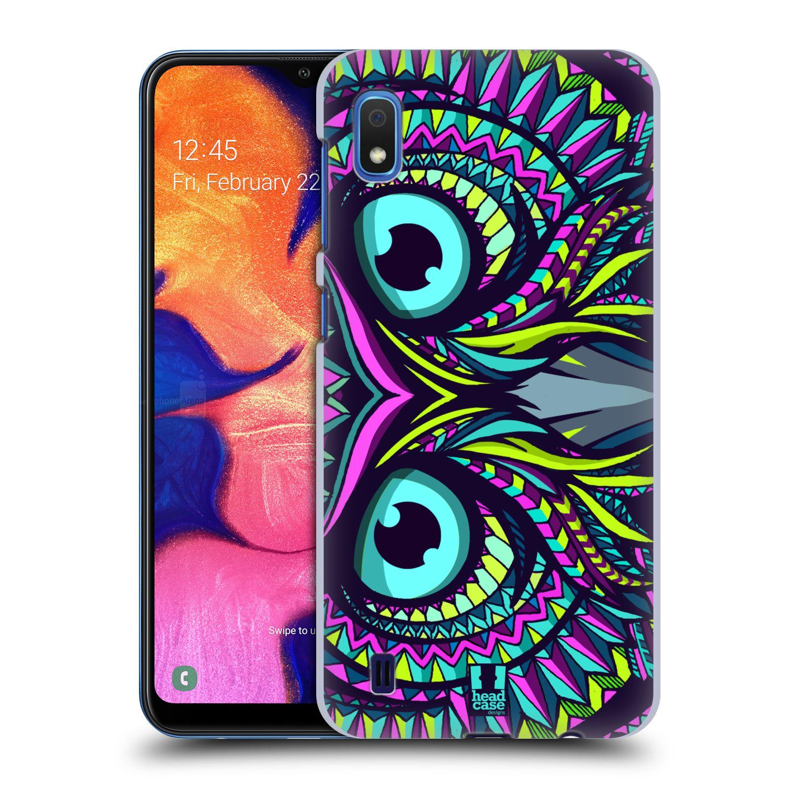 Plastové pouzdro na mobil Samsung Galaxy A10 - Head Case - AZTEC SOVA