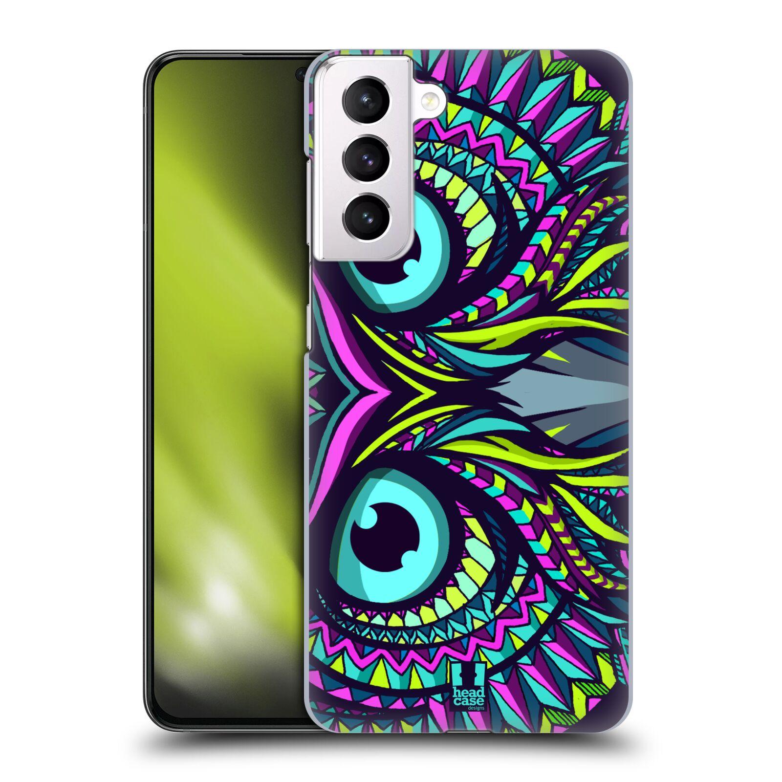 Plastové pouzdro na mobil Samsung Galaxy S21 Plus 5G - Head Case - AZTEC SOVA
