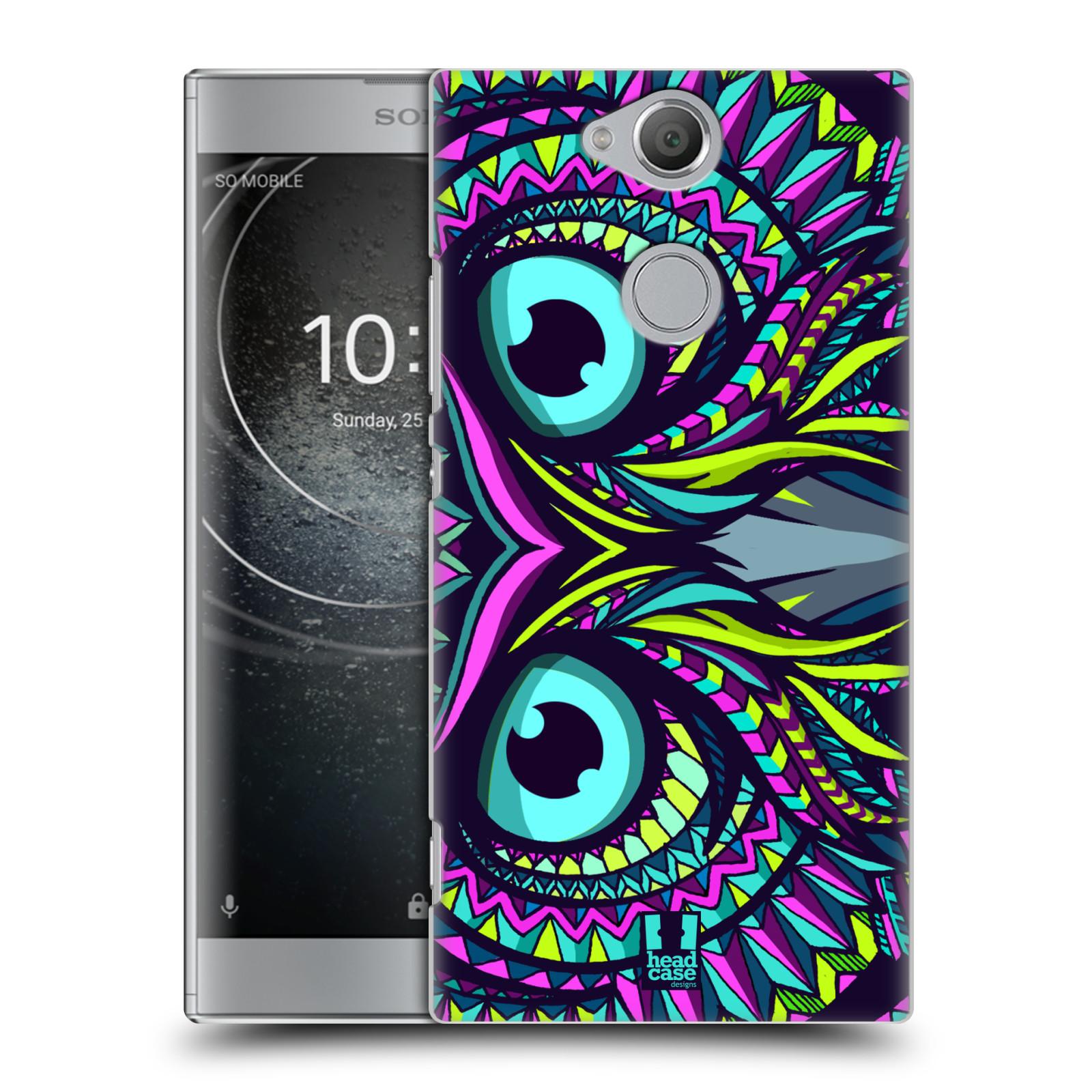 Plastové pouzdro na mobil Sony Xperia XA2 - Head Case - AZTEC SOVA