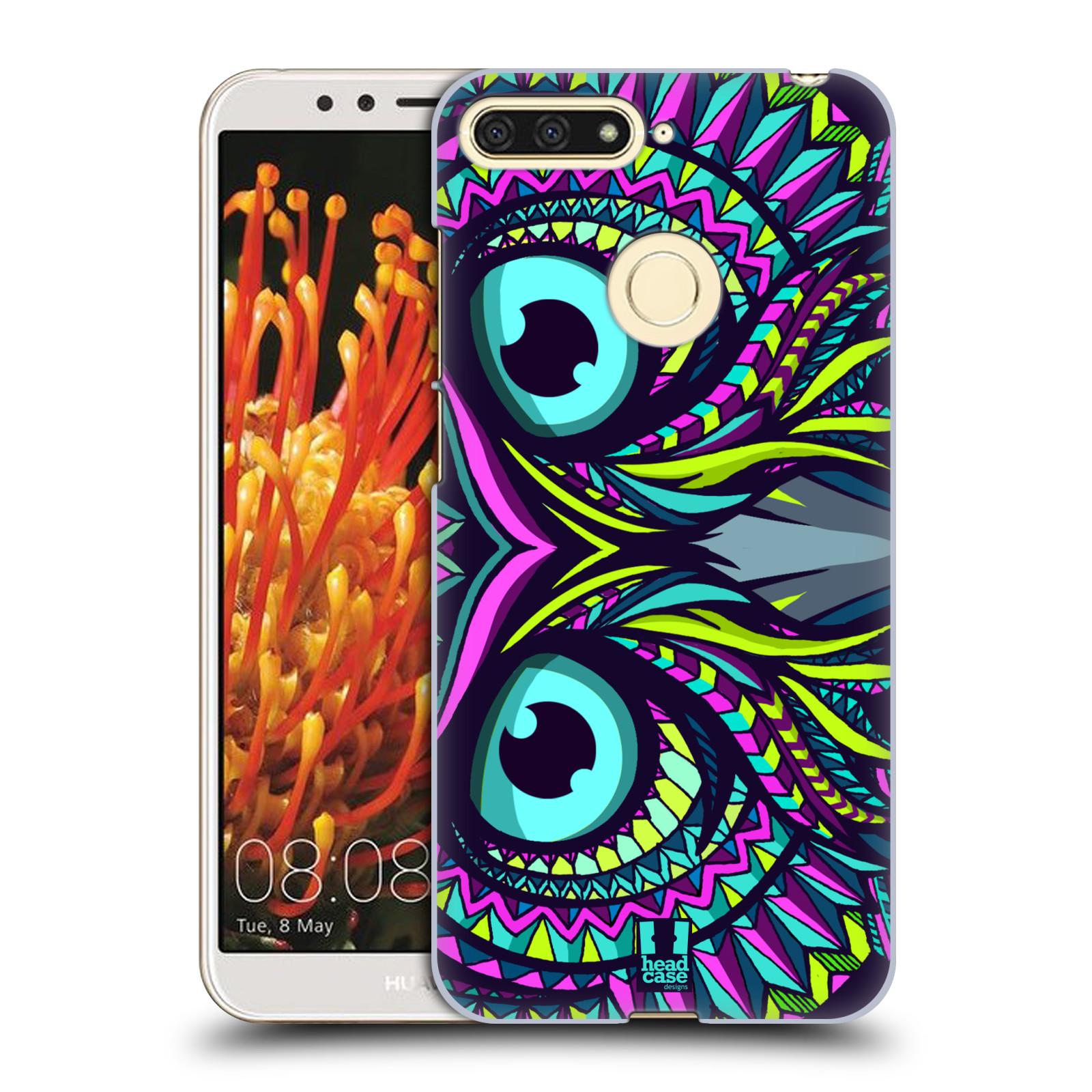 Plastové pouzdro na mobil Huawei Y6 Prime 2018 - Head Case - AZTEC SOVA