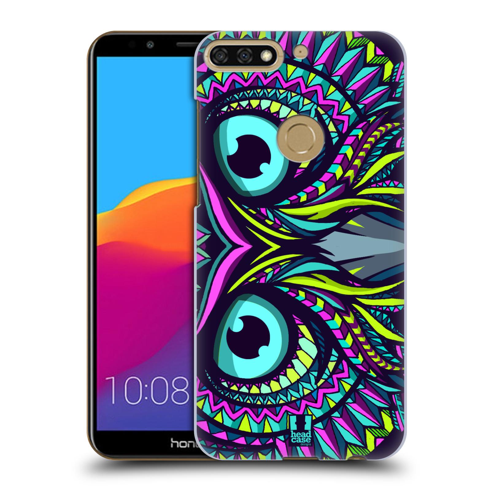 Plastové pouzdro na mobil Huawei Y7 Prime 2018 - Head Case - AZTEC SOVA