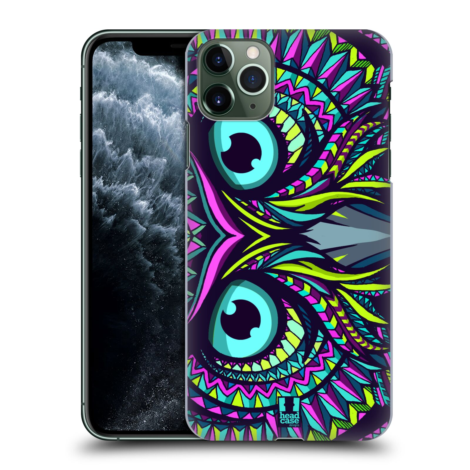 Plastové pouzdro na mobil Apple iPhone 11 Pro Max - Head Case - AZTEC SOVA
