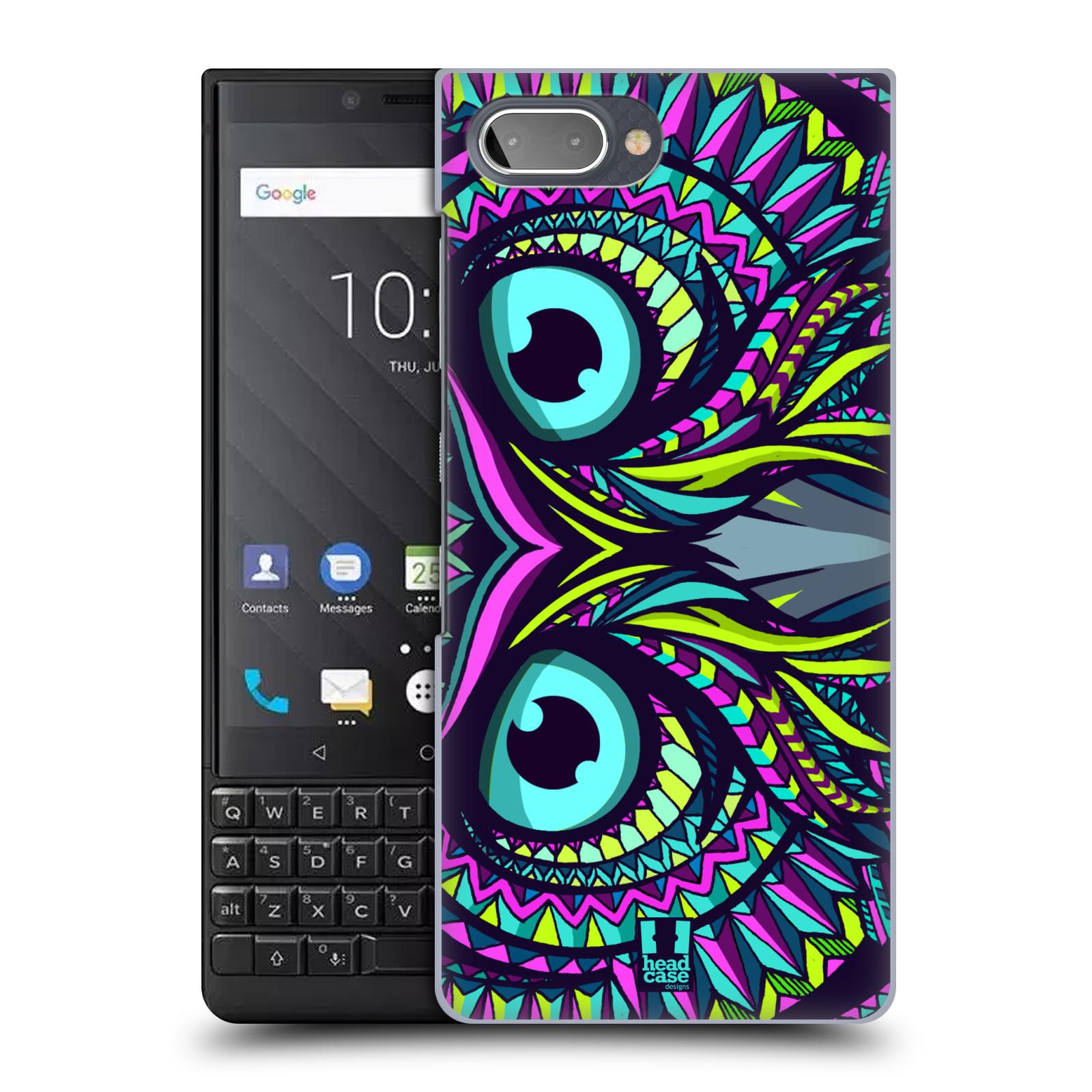 Plastové pouzdro na mobil Blackberry Key 2 - Head Case - AZTEC SOVA