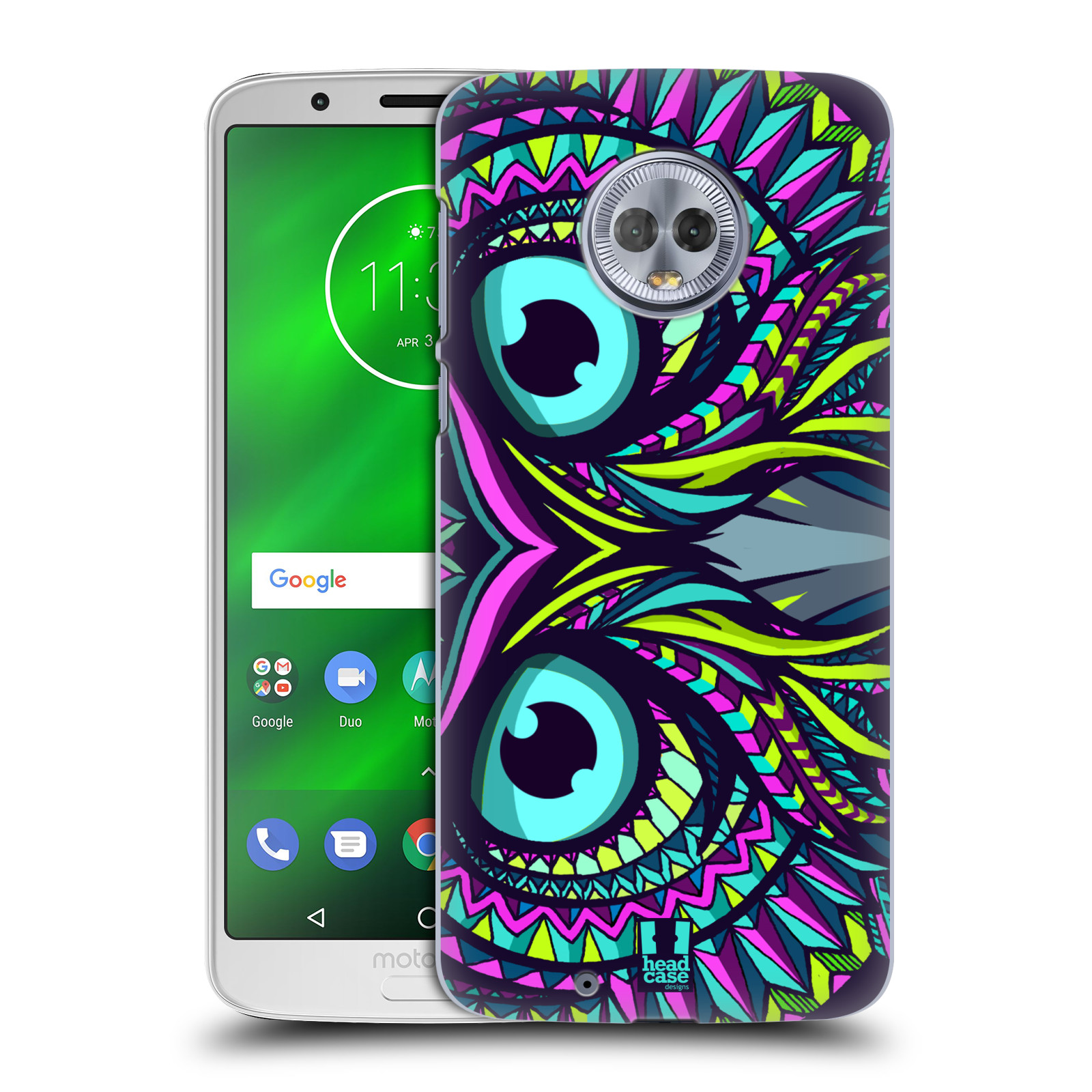 Plastové pouzdro na mobil Motorola Moto G6 - Head Case - AZTEC SOVA