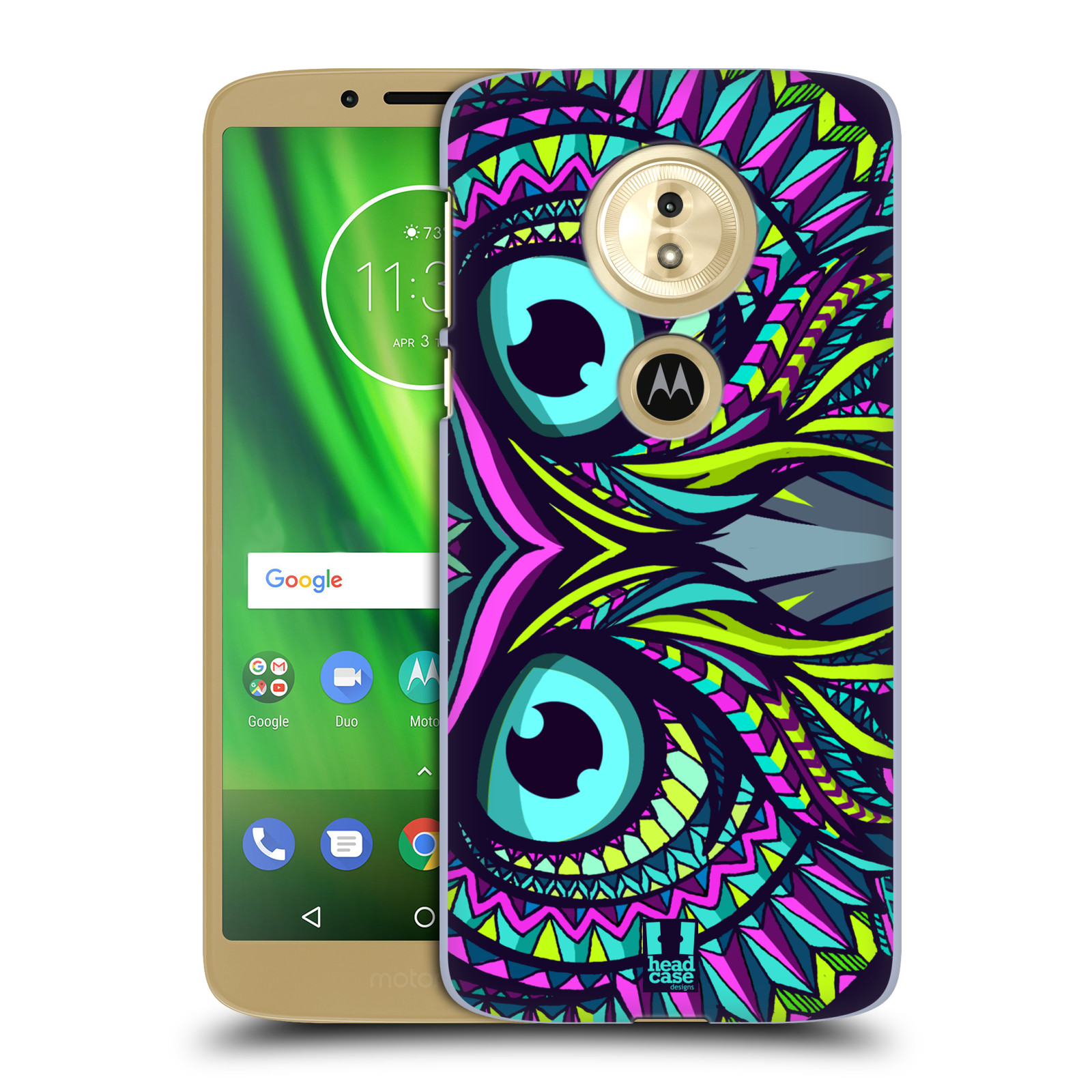 Plastové pouzdro na mobil Motorola Moto G6 Play - Head Case - AZTEC SOVA