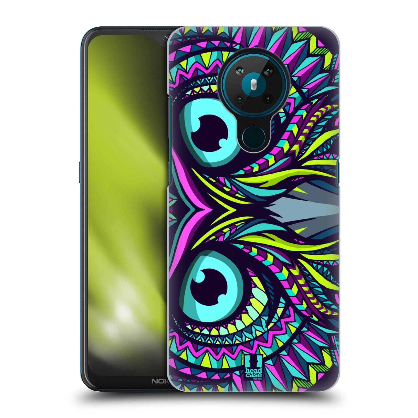 Plastové pouzdro na mobil Nokia 5.3 - Head Case - AZTEC SOVA
