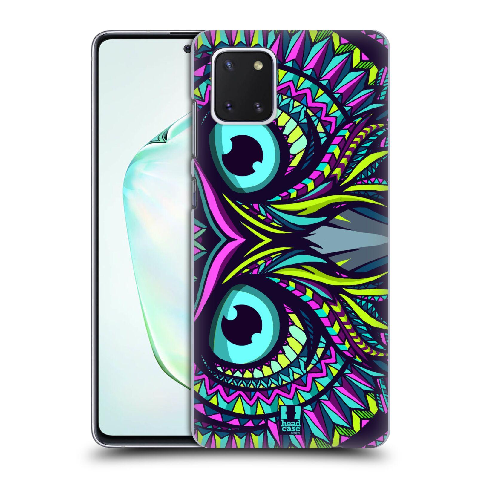 Plastové pouzdro na mobil Samsung Galaxy Note 10 Lite - Head Case - AZTEC SOVA