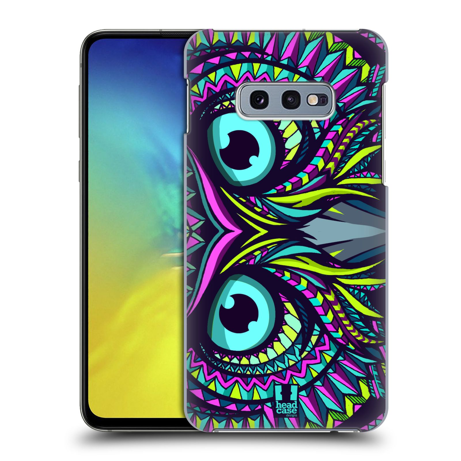 Plastové pouzdro na mobil Samsung Galaxy S10e - Head Case - AZTEC SOVA