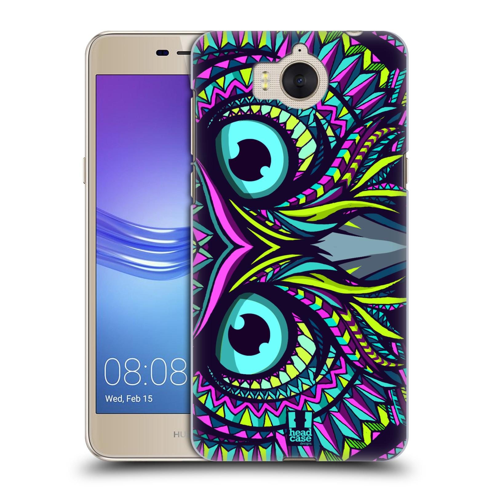 Plastové pouzdro na mobil Huawei Y6 2017 - Head Case - AZTEC SOVA