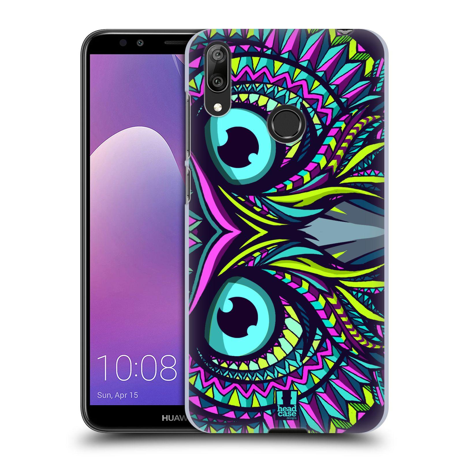 Plastové pouzdro na mobil Huawei Y7 (2019) - Head Case - AZTEC SOVA