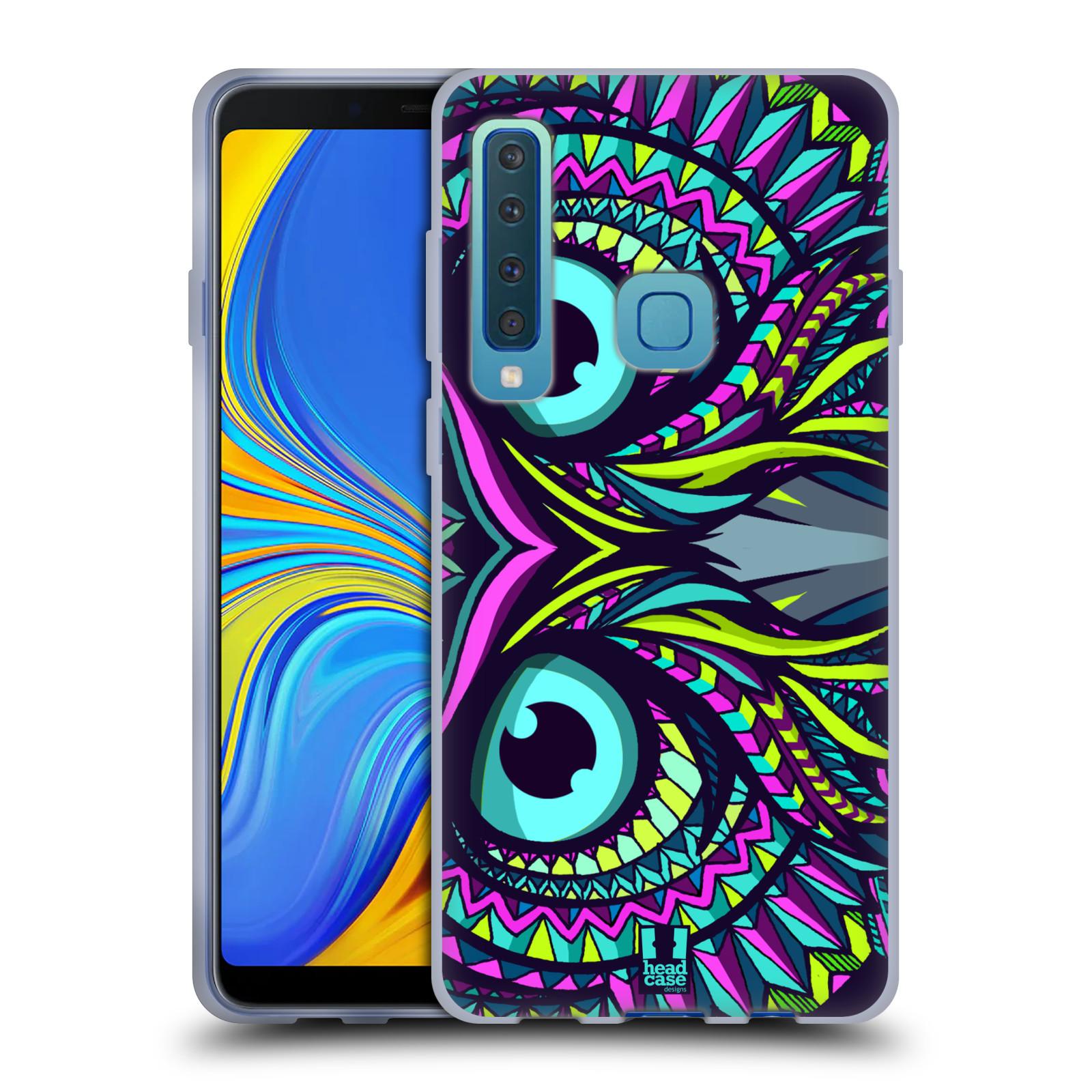 Silikonové pouzdro na mobil Samsung Galaxy A9 (2018) - Head Case - AZTEC SOVA