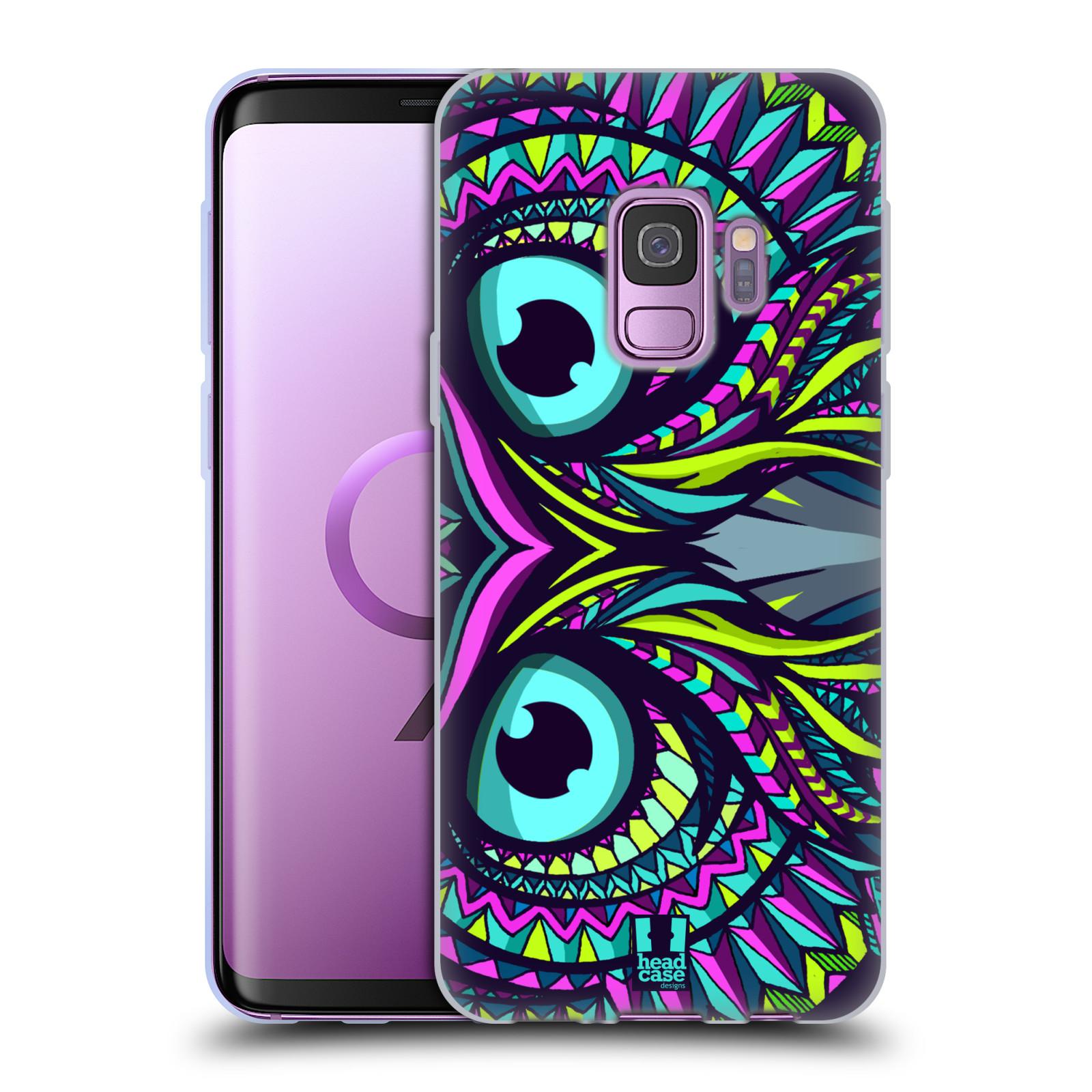 Silikonové pouzdro na mobil Samsung Galaxy S9 - Head Case - AZTEC SOVA