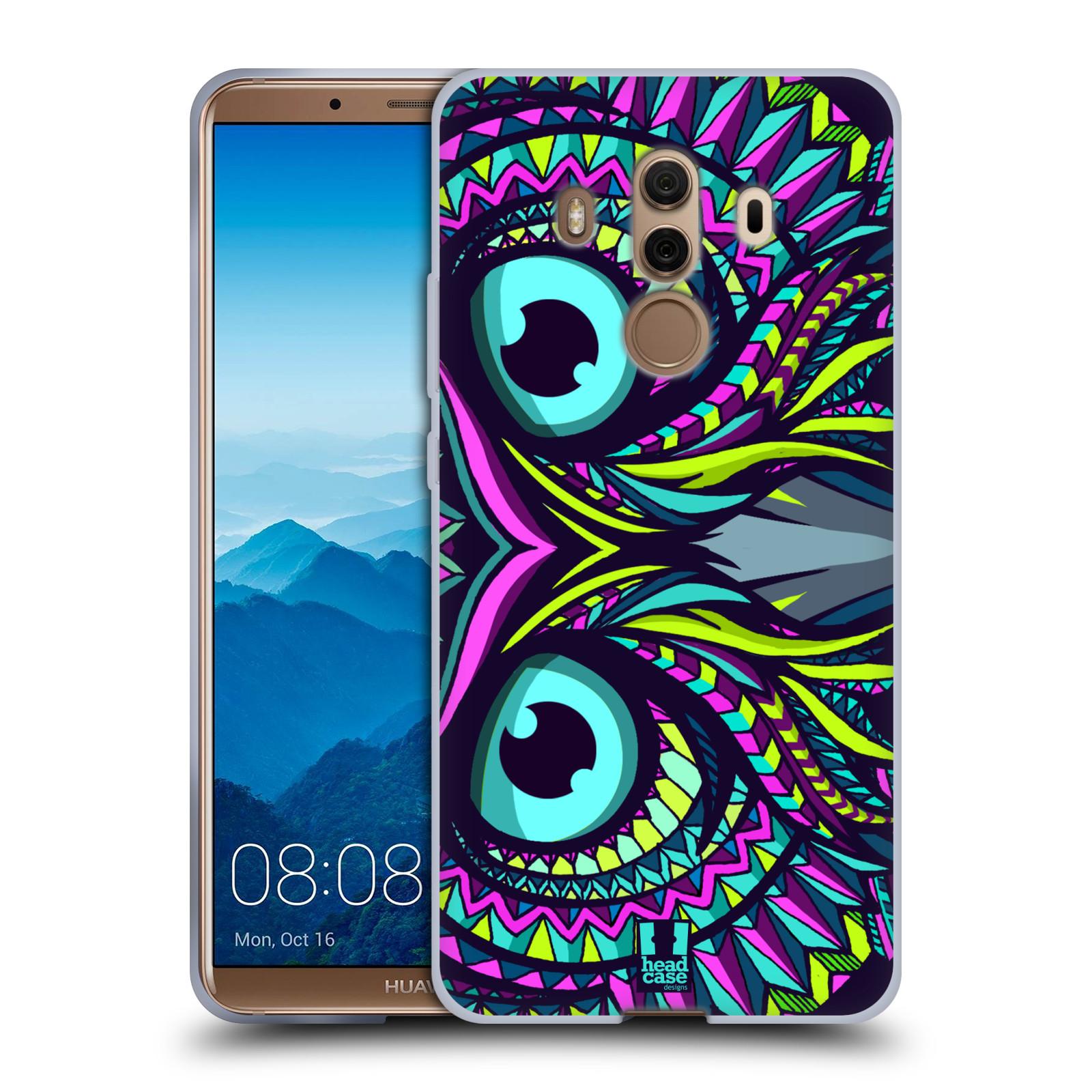 Silikonové pouzdro na mobil Huawei Mate 10 Pro - Head Case - AZTEC SOVA