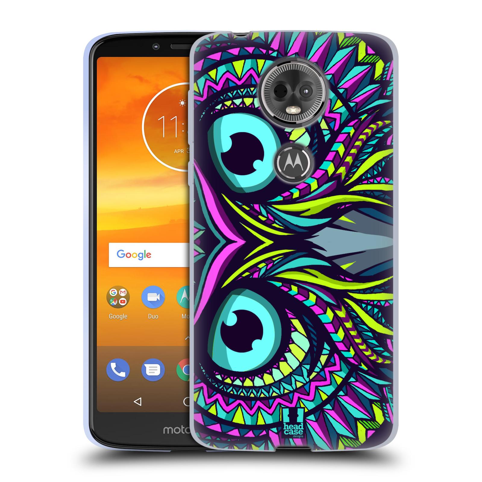 Silikonové pouzdro na mobil Motorola Moto E5 Plus - Head Case - AZTEC SOVA