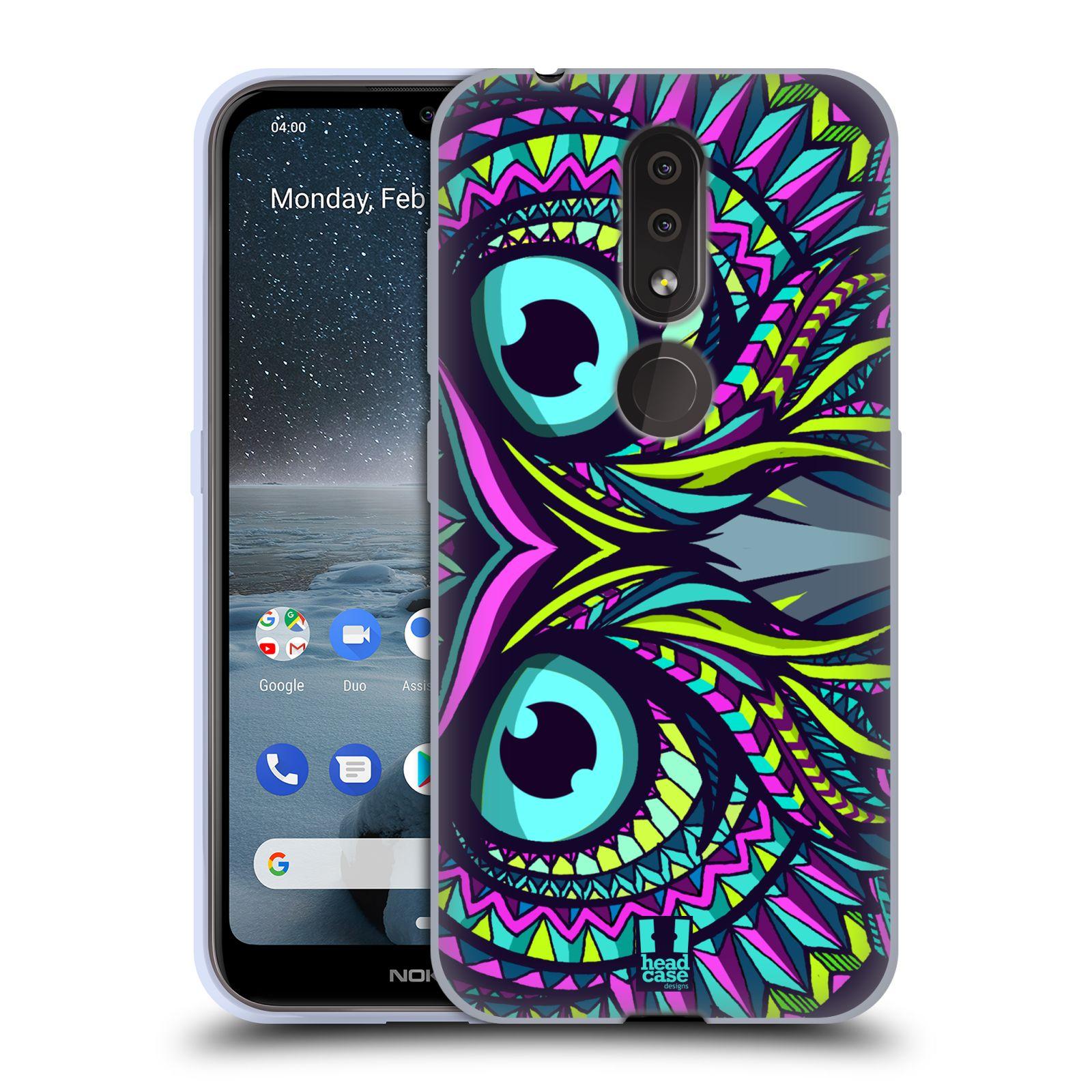 Silikonové pouzdro na mobil Nokia 4.2 - Head Case - AZTEC SOVA