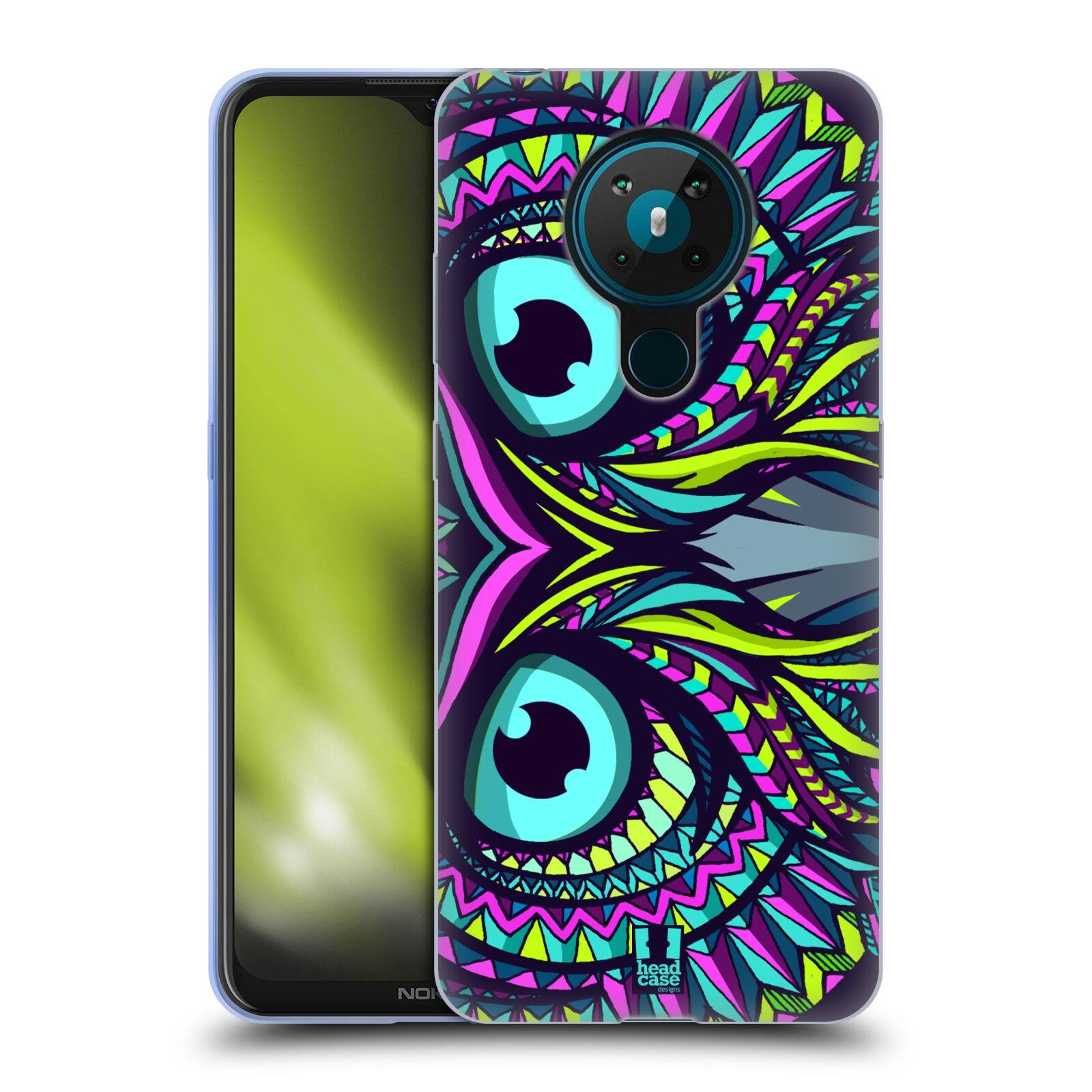 Silikonové pouzdro na mobil Nokia 5.3 - Head Case - AZTEC SOVA