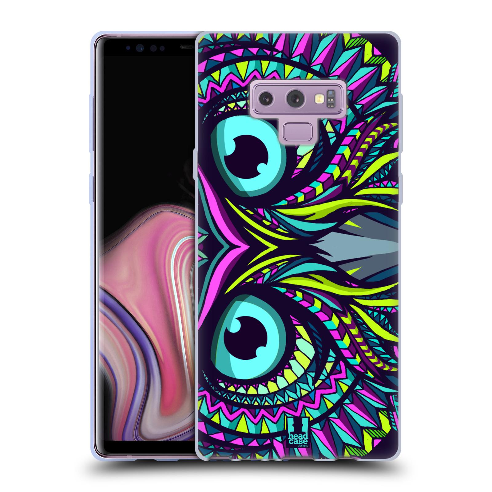 Silikonové pouzdro na mobil Samsung Galaxy Note 9 - Head Case - AZTEC SOVA