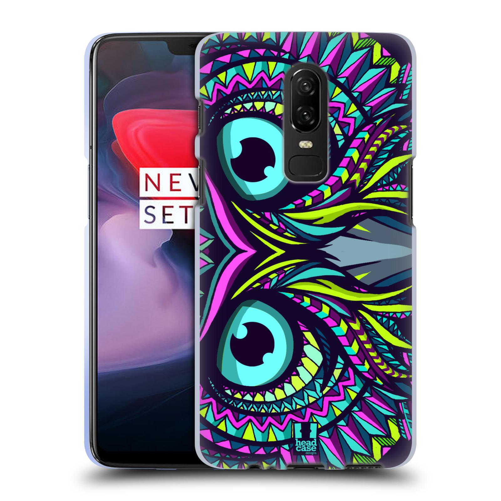 Silikonové pouzdro na mobil OnePlus 6 - Head Case - AZTEC SOVA